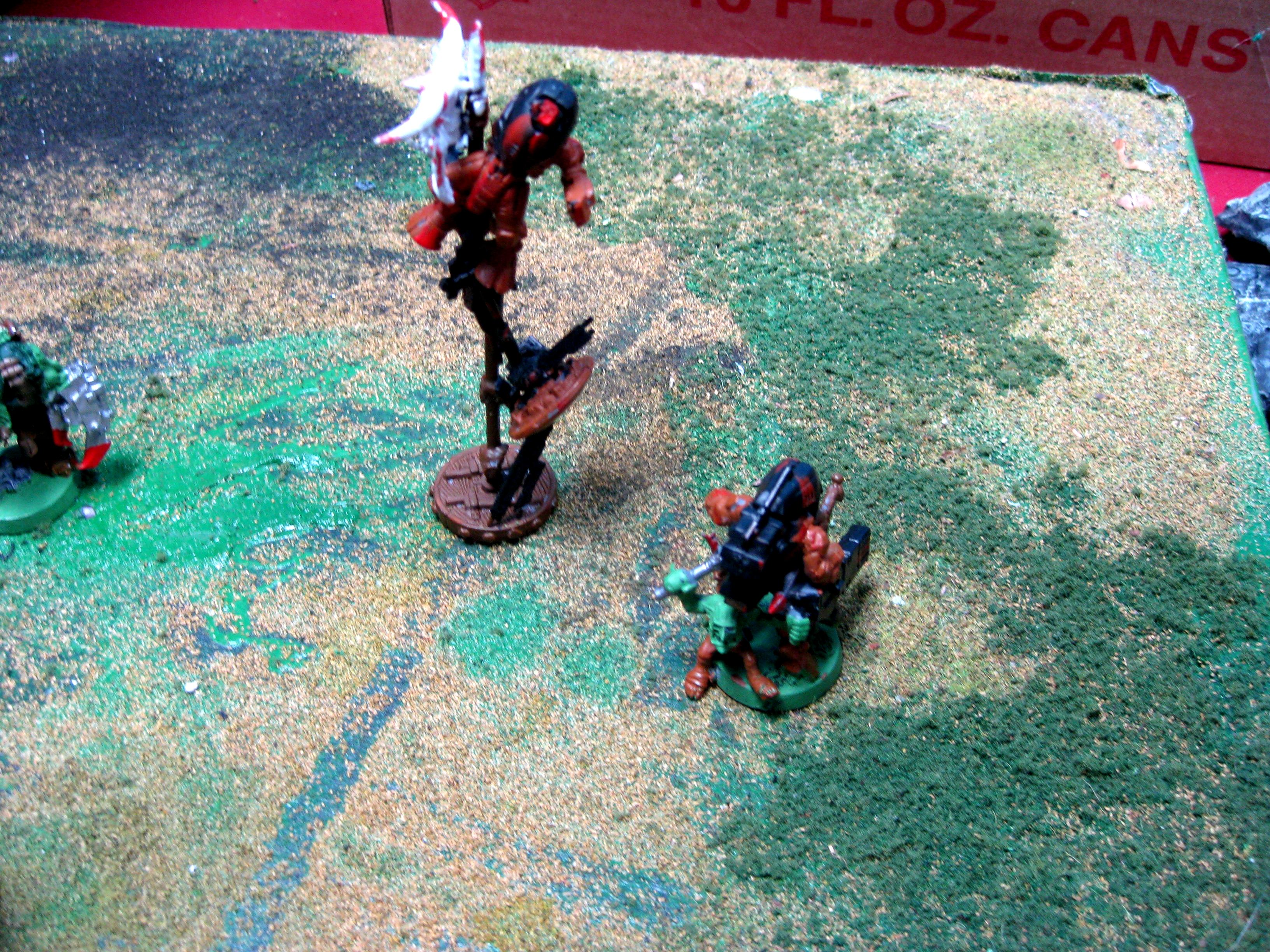 Orks, Tau, Objective Markers