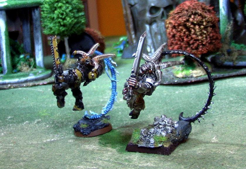 Beastmen, Eye, Kharzak, One, Space, Space Marines, Warhammer 40,000, Wolves