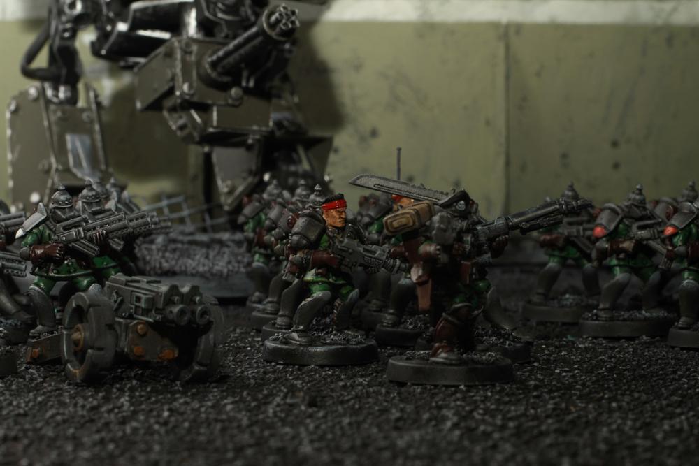 Warzone, my troop