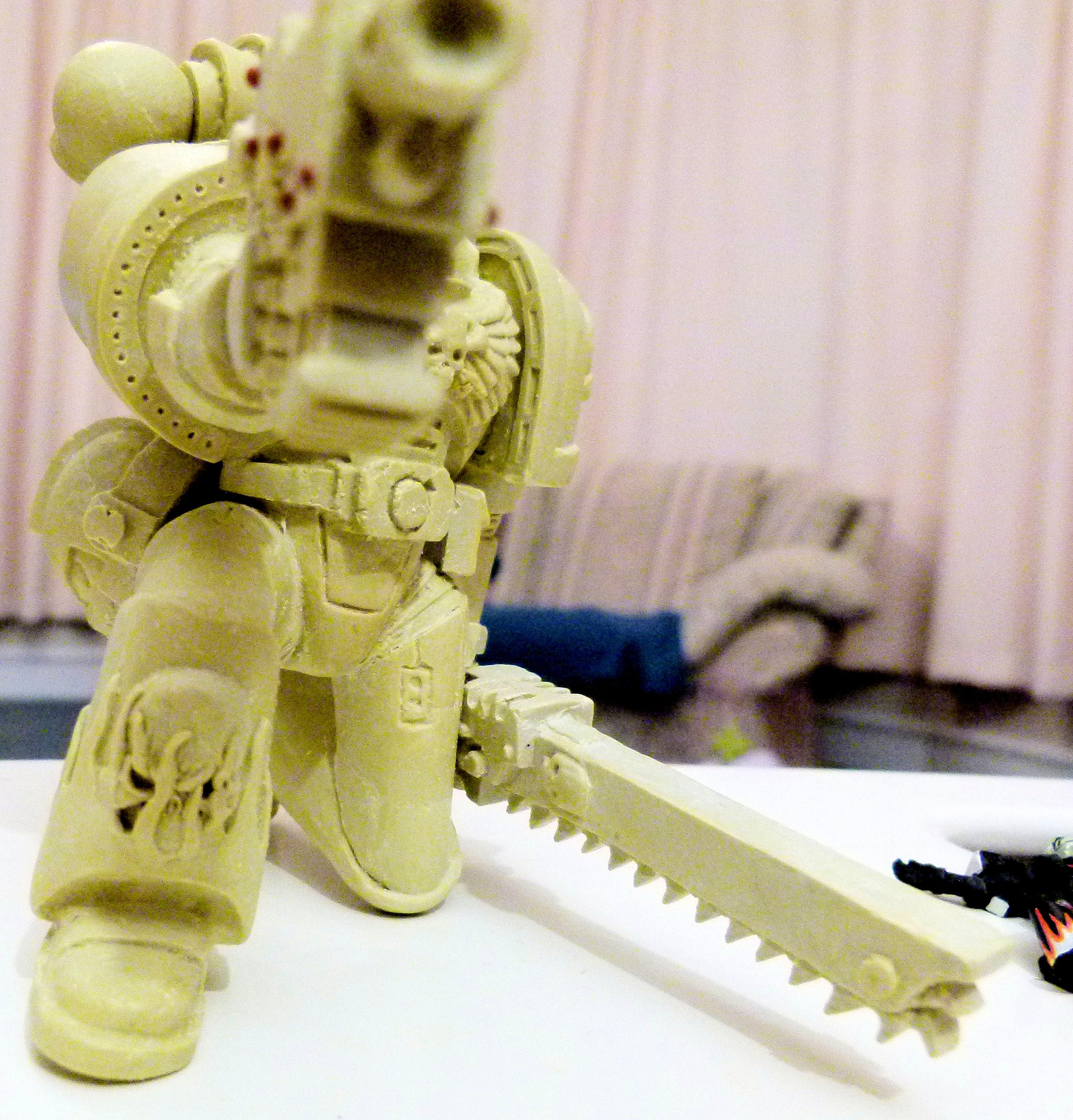 Action Figure, Large, Space Marines