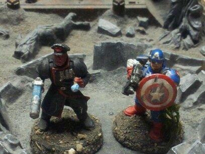 Captain America, Commissar, Imperial Guard, Superhero