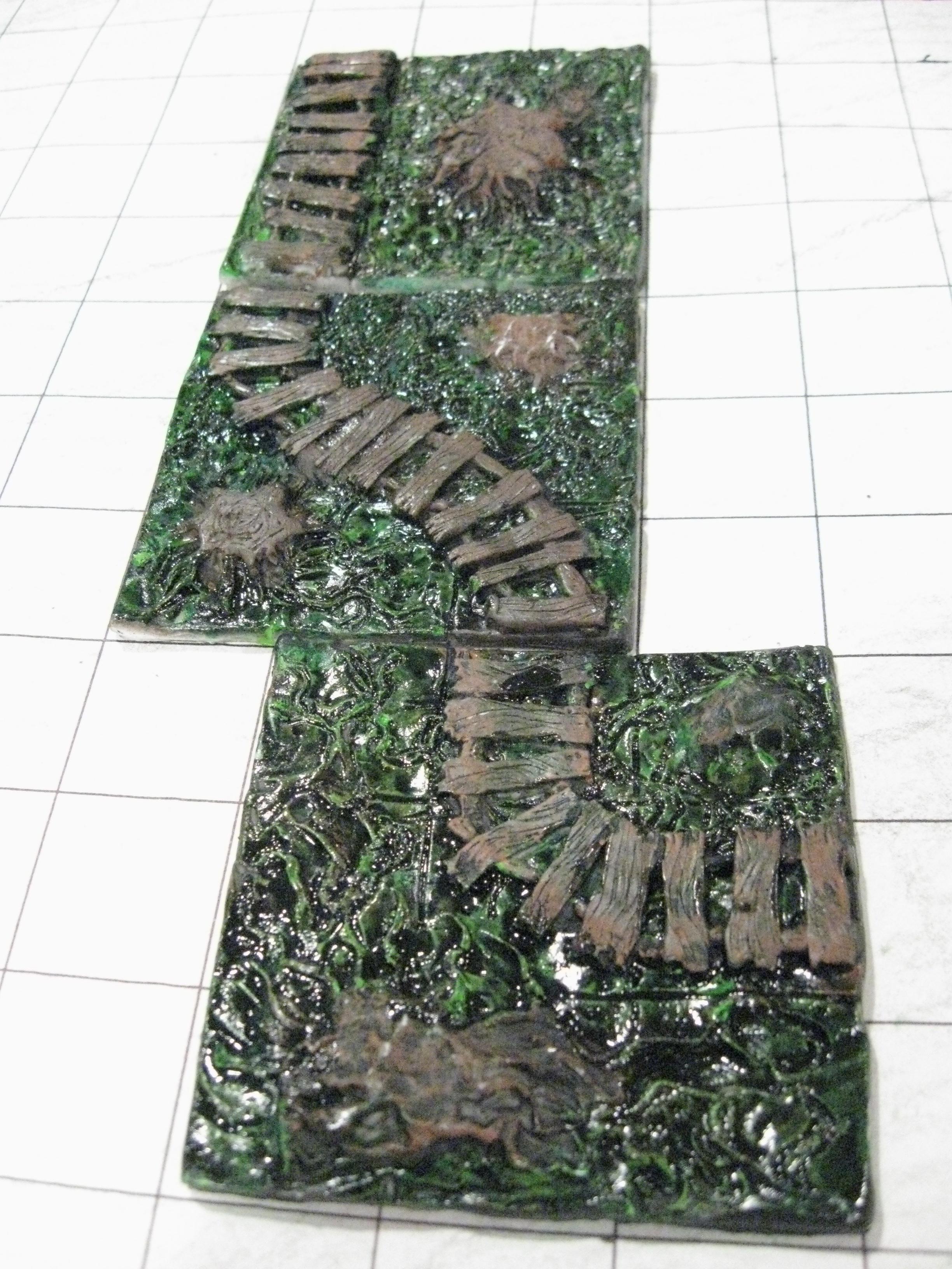 "Swamp, Terrain, 3"" Square Swamp Tile Terrain"