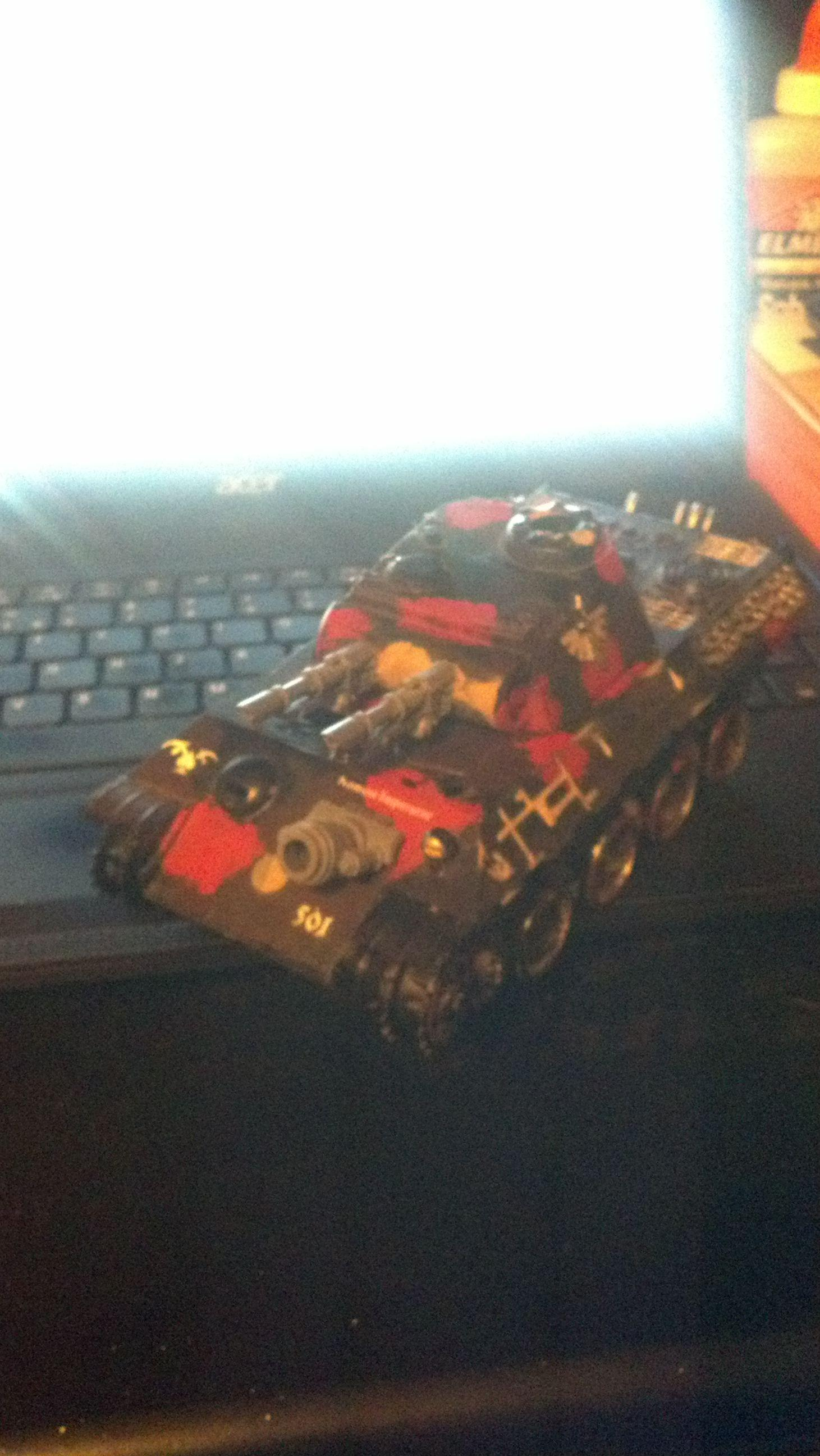 Ignore the shody paint job, and i know it's a bad pic but I don't have access to a proper camera
