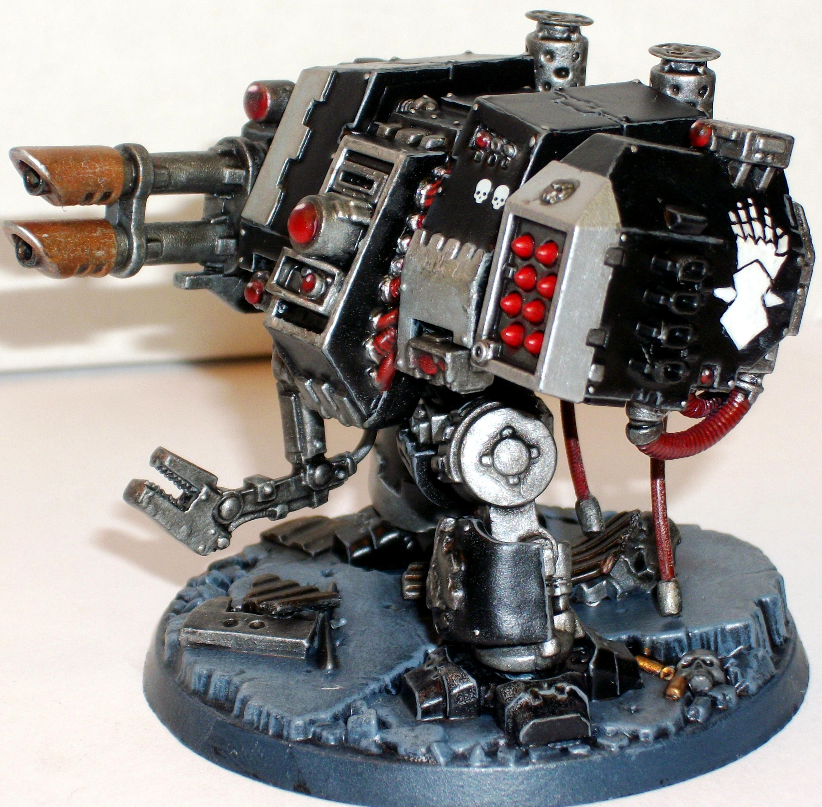 Dreadnought, Iron Hand, Space Marines, Venerable