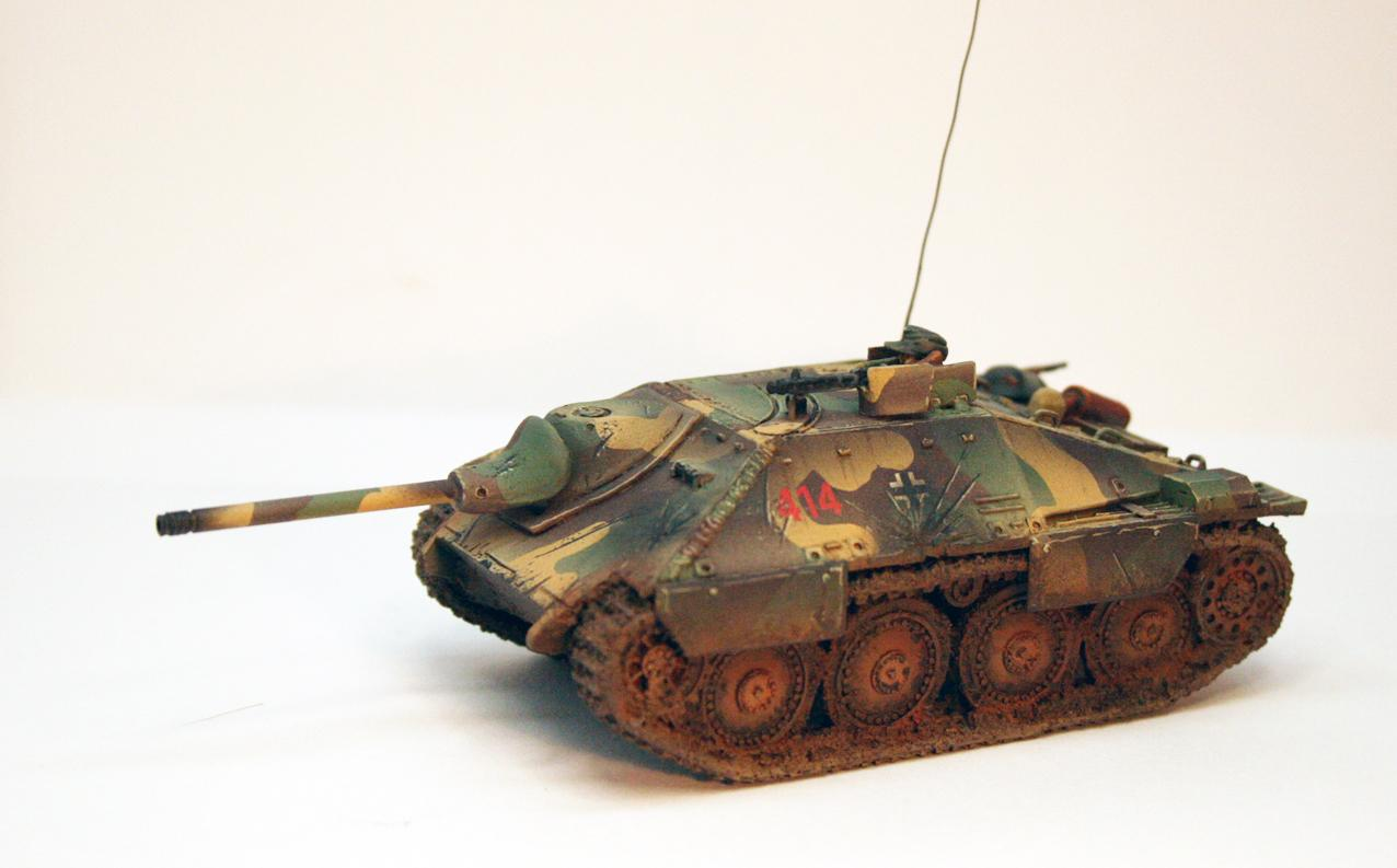 Germans, Hetzer, Panzer, Tank, World War 2
