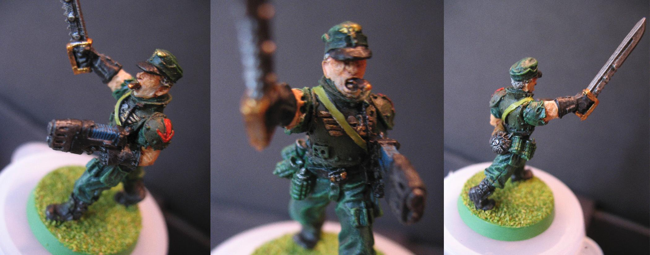 Col  Schaeffer, Col Schaeffer, Imperial Guard, Last Chancers, Penal Custodian, Penal Legion