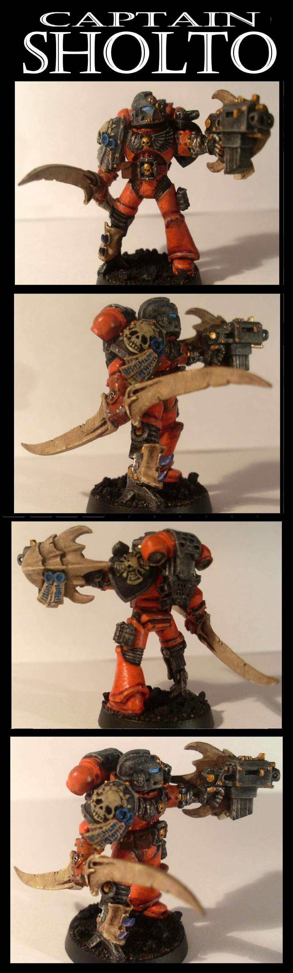 Astartes, Space Marine Captain, Warhammer 40 K