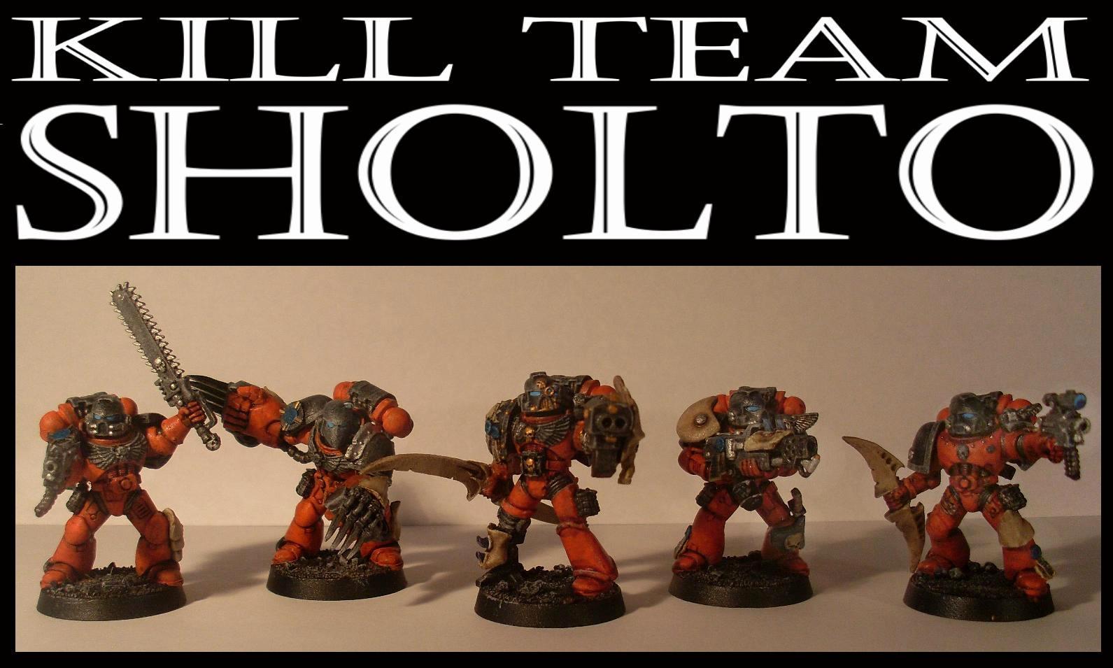 Astartes, Killteam, Space Marines
