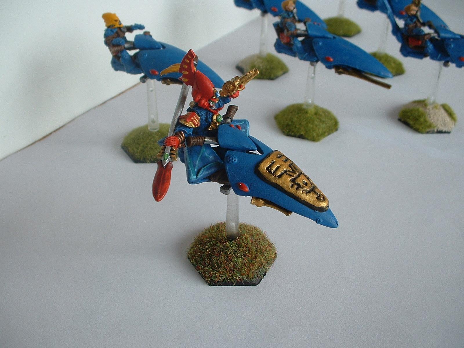 Alaitoc, Eldar Jetbike, Warlock