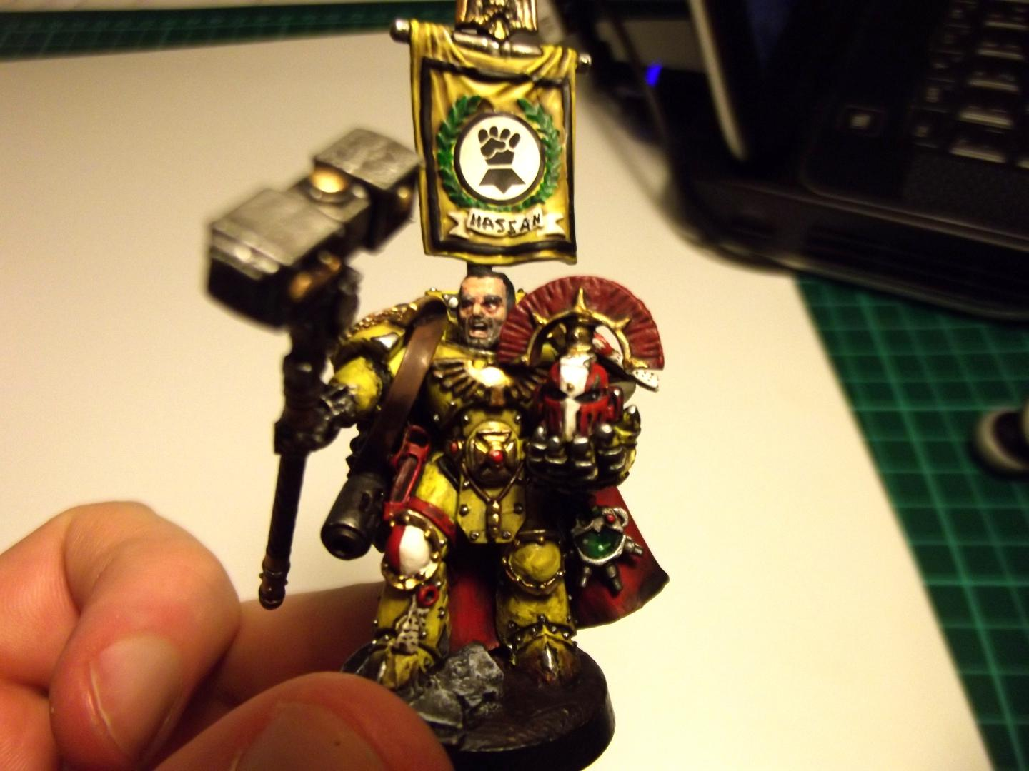 Captain, Imperial Fists, Pre-heresy, Space Marines