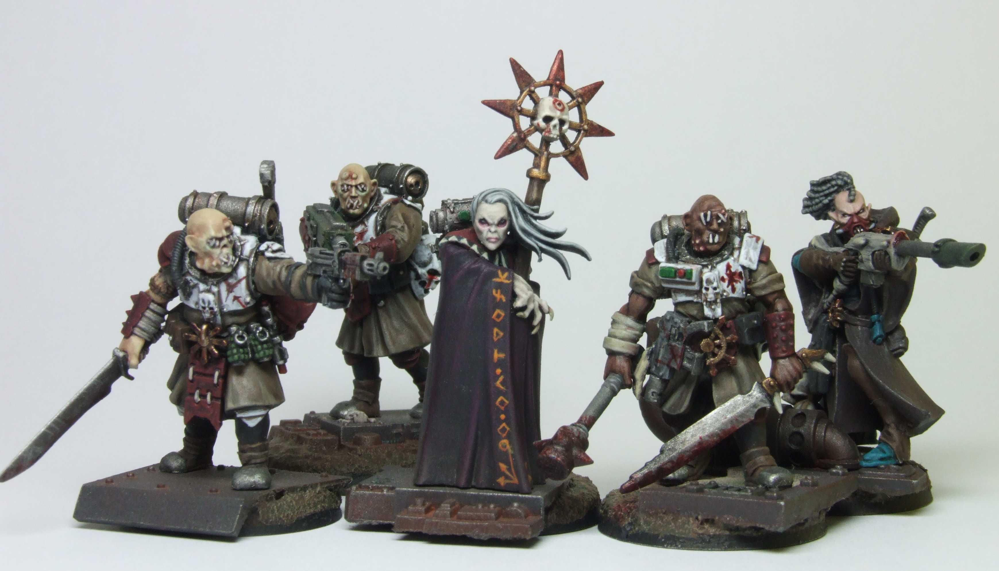 Chaos, Guardsmen, Inquisitor, Necromunda, Radical, Renegade