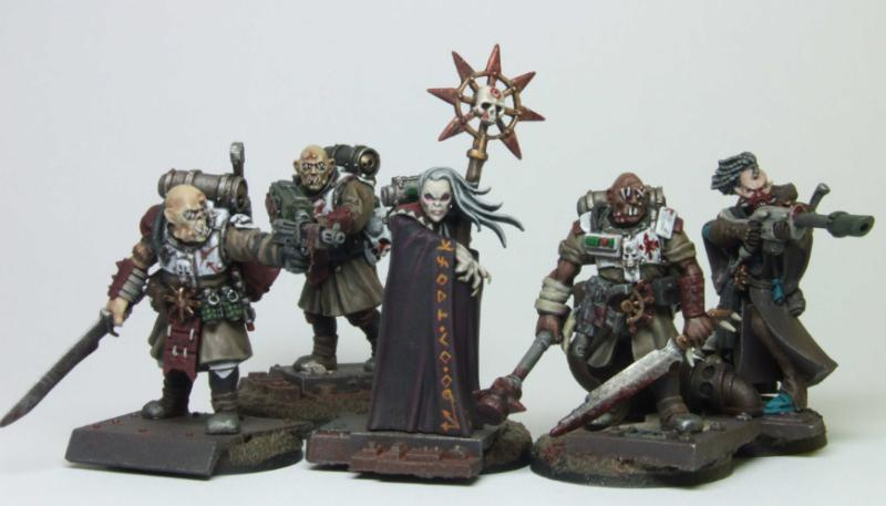 Chaos, Guardsmen, Inquisitor, Necromunda, Radical, Renegade