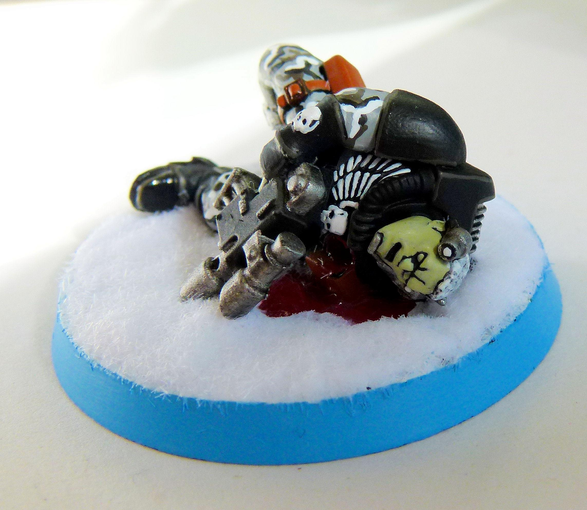 Dead, Marine Abuse, Scouts, Space Marines