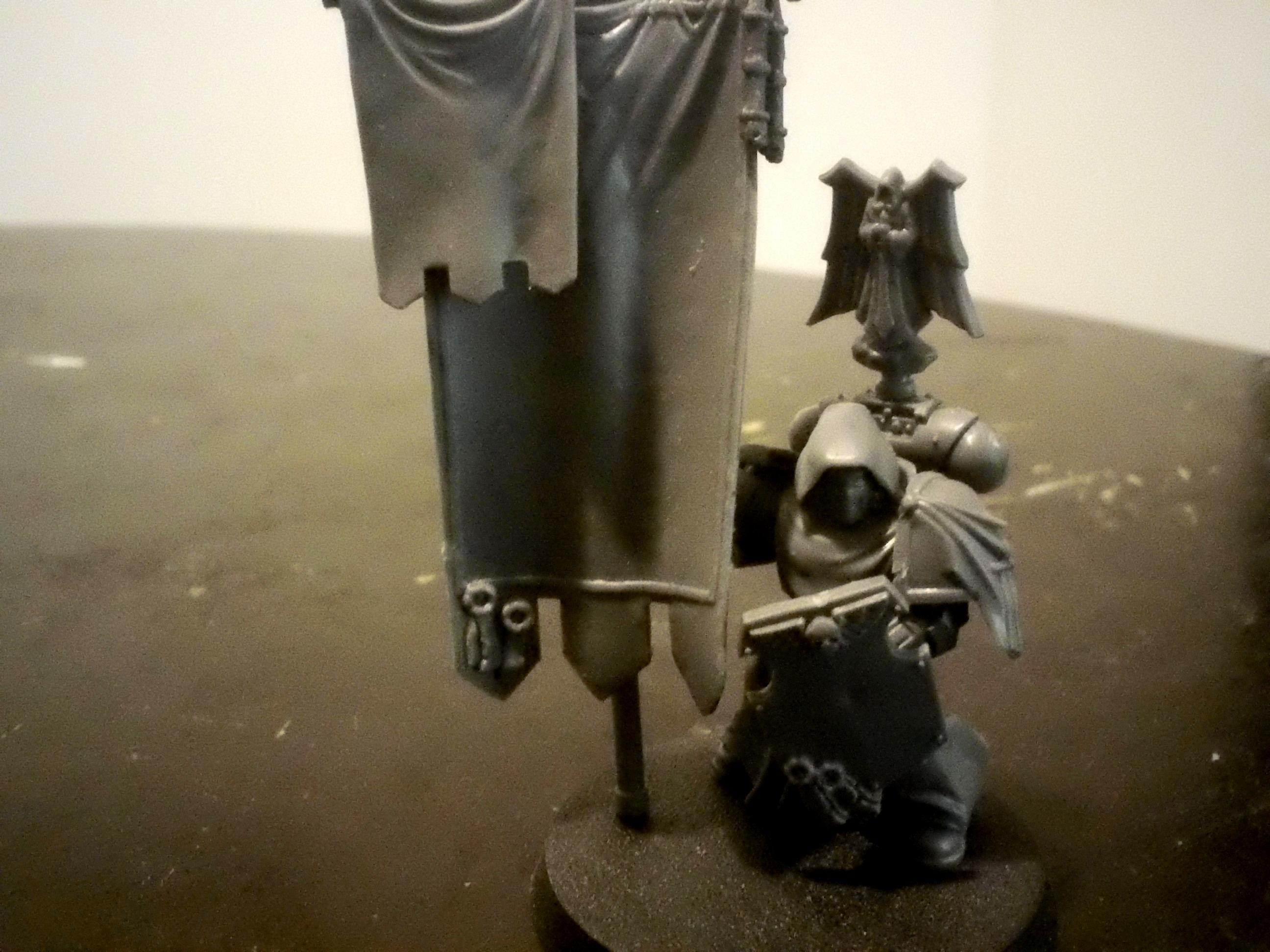 Bearer, Dark Angels, Grey Knights, Space Marines, Standard, Veteran, Work In Progress