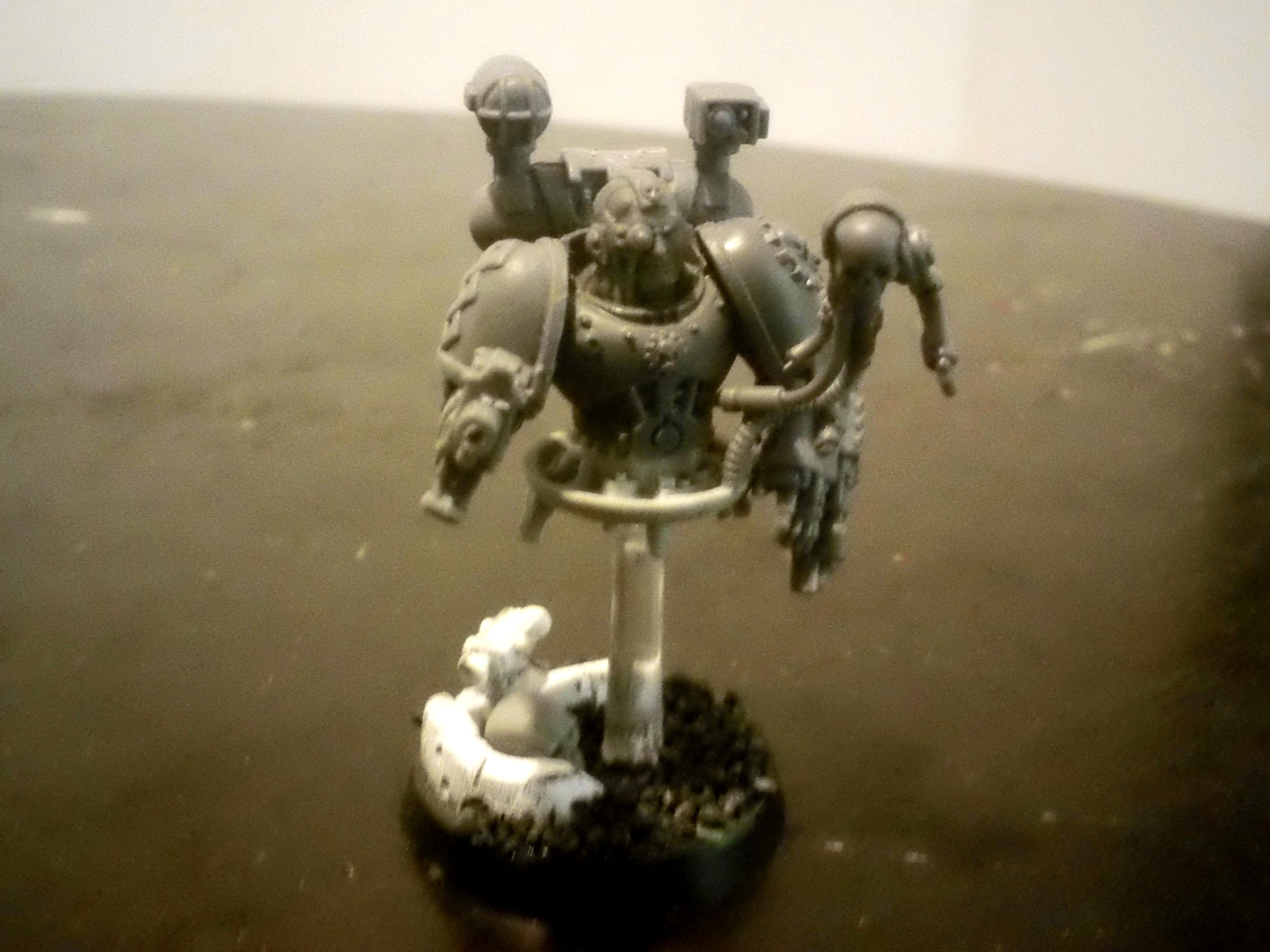 Adeptus, Apothecary, Mechanicus, Servo Skull, Work In Progress