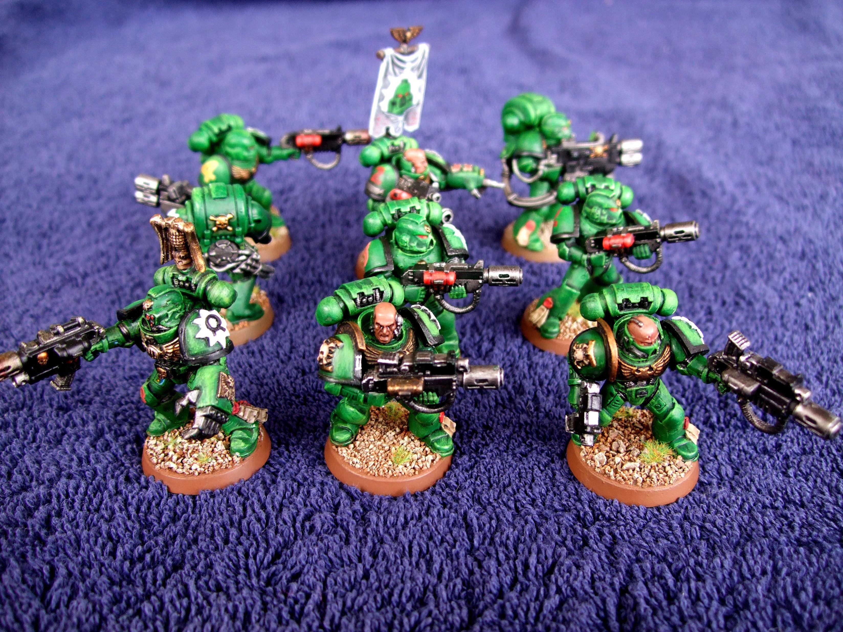 Aurora Chapter, Combimelta, Meltagun, Multimelta, Power Fist, Sergeant, Space Marines