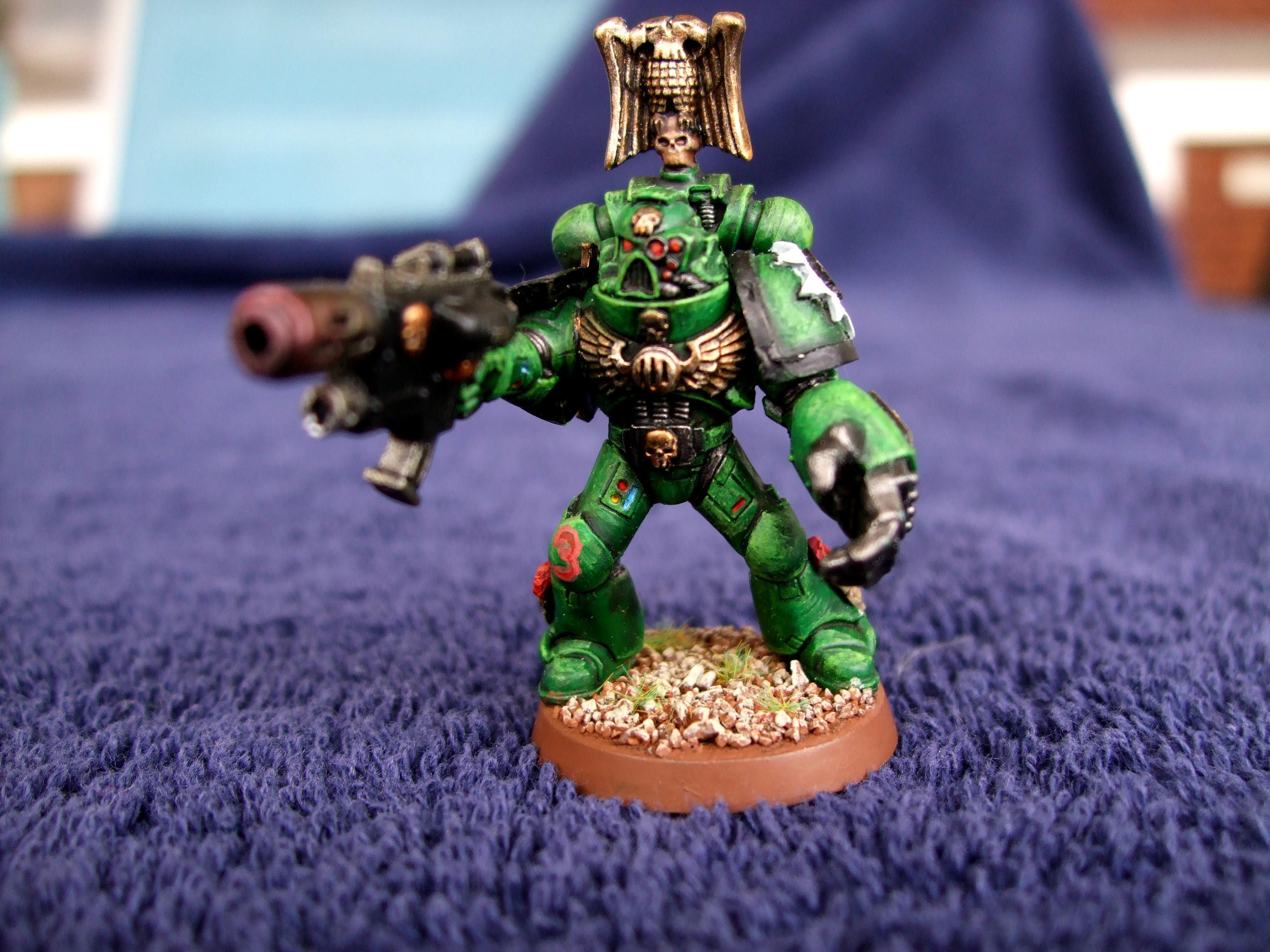 Aurora Chapter, Combimelta, Power Fist, Space Marines