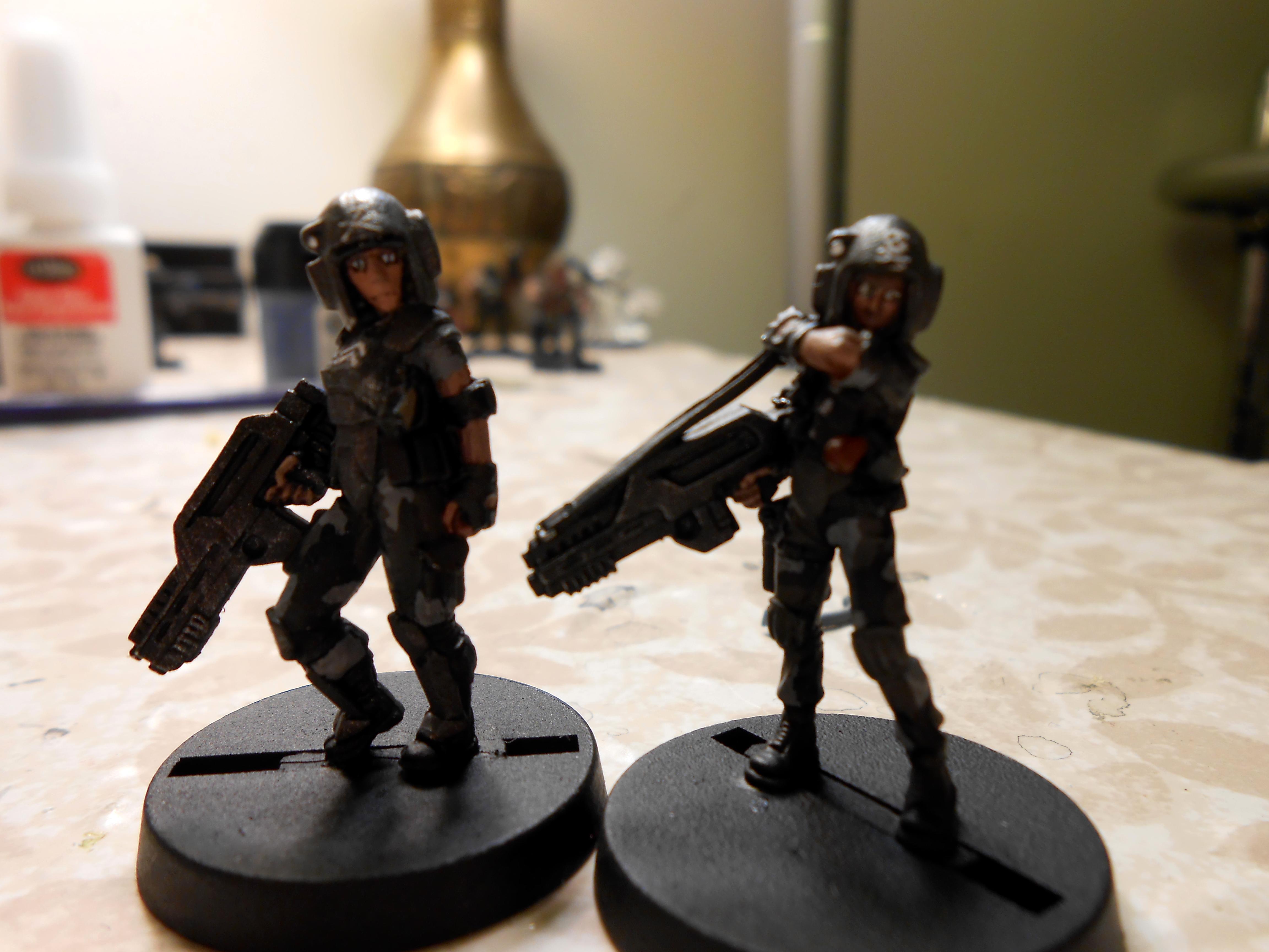 Female Guardmens