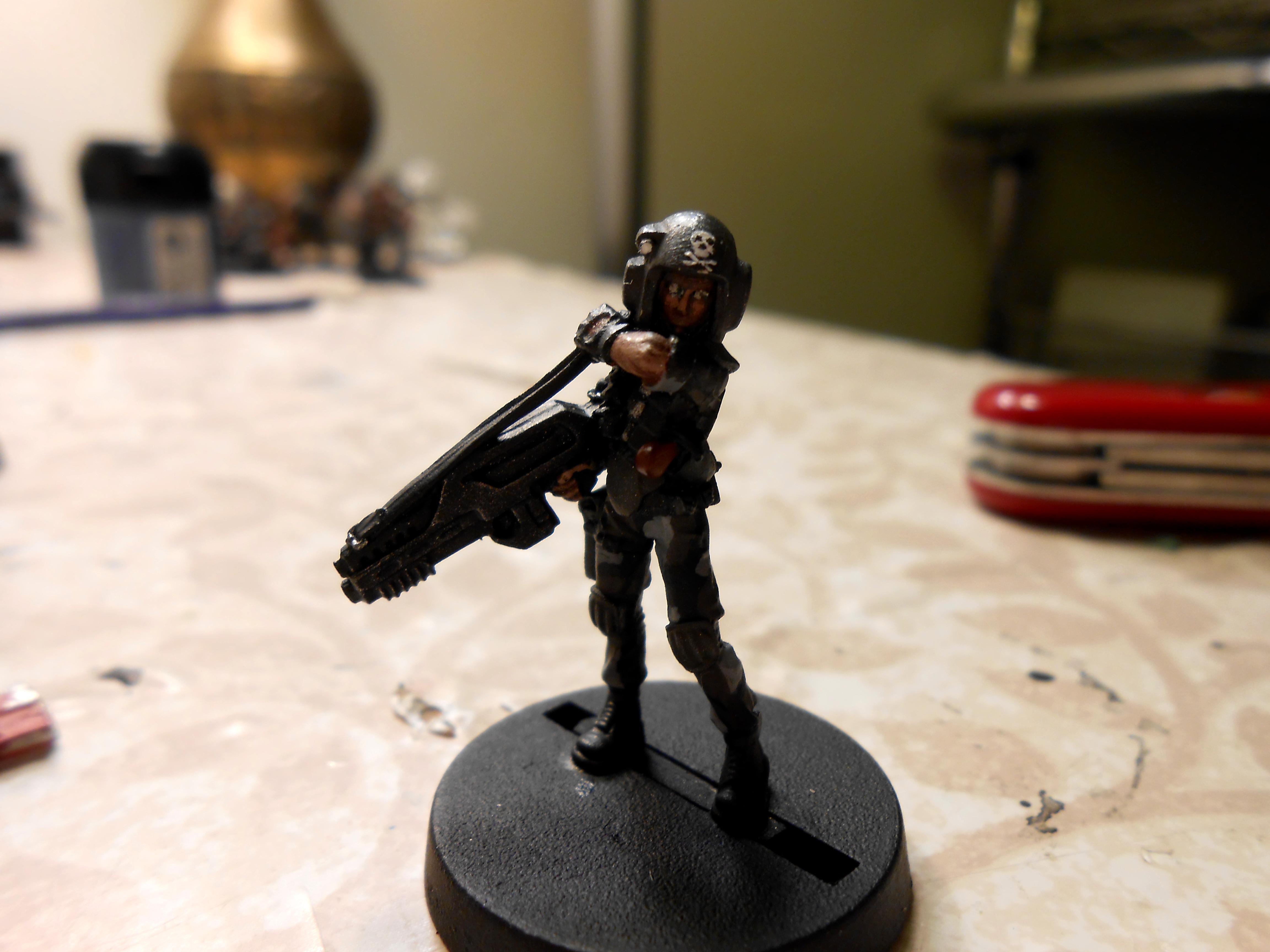 Female Guardsmen