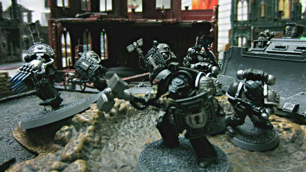 Alien Hunter, Alien Hunters, Black Shields, Blackshields, Death Watch, Deathwatch, Deathwatch Blackshields, Deathwatch Kill Team, Inquisition, Ordos, Ordos Xenos, Space Marines, Tactical Dreadnought Armour, Terminator Armor, The Inquisition
