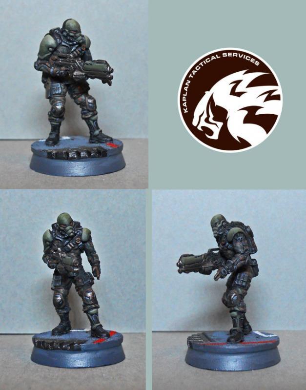 Infinity, Kaplan, Mercenary