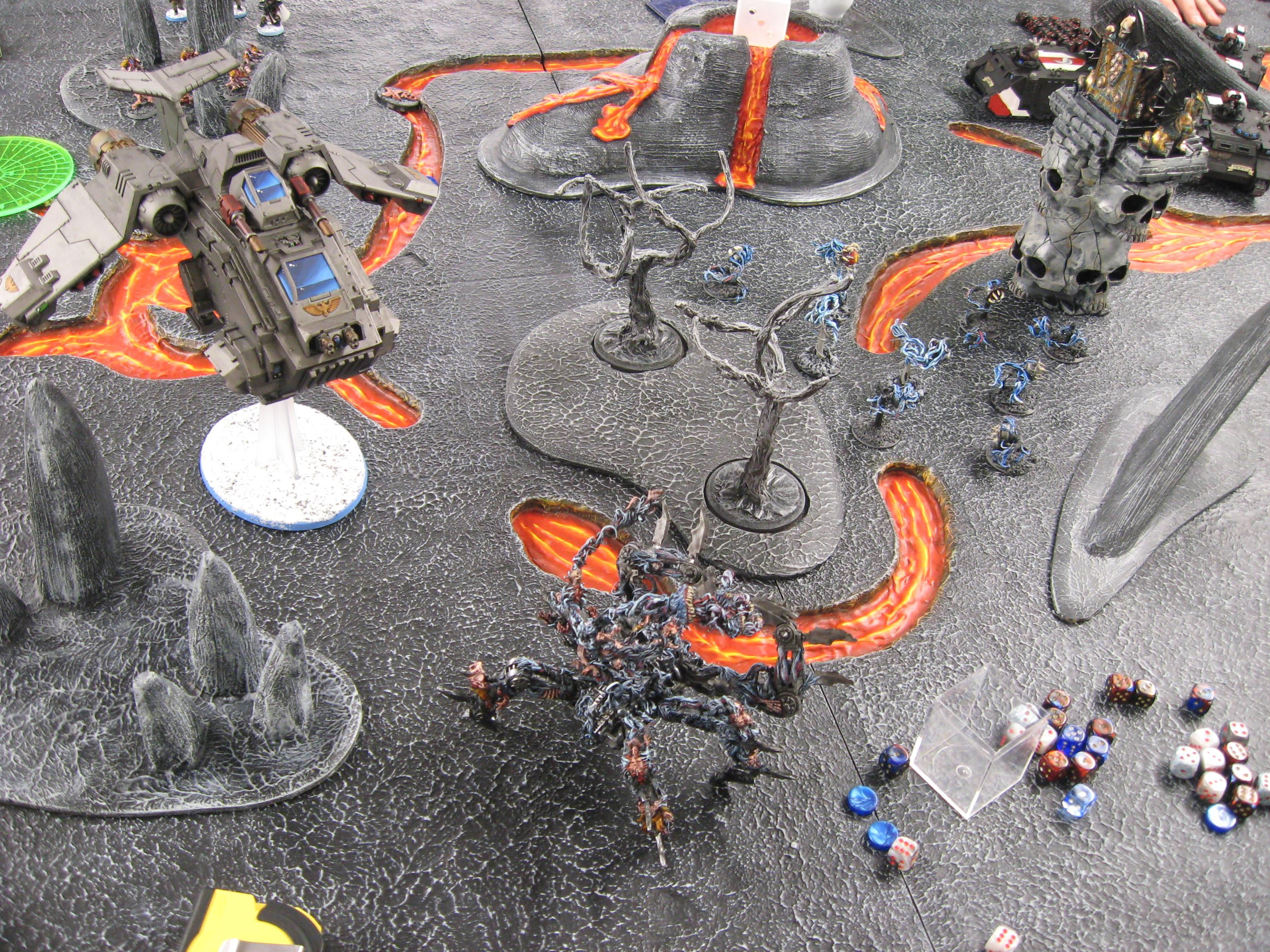 Battle Report, Grey Knights, Harrowed, Tournament