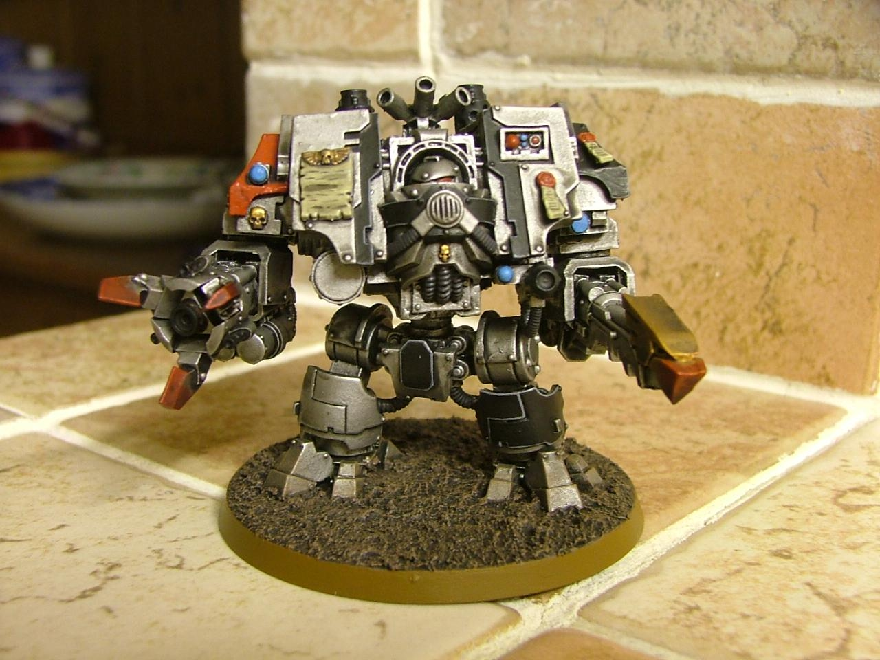 Dreadnought, Forge World, Grey Knights, Ironclad