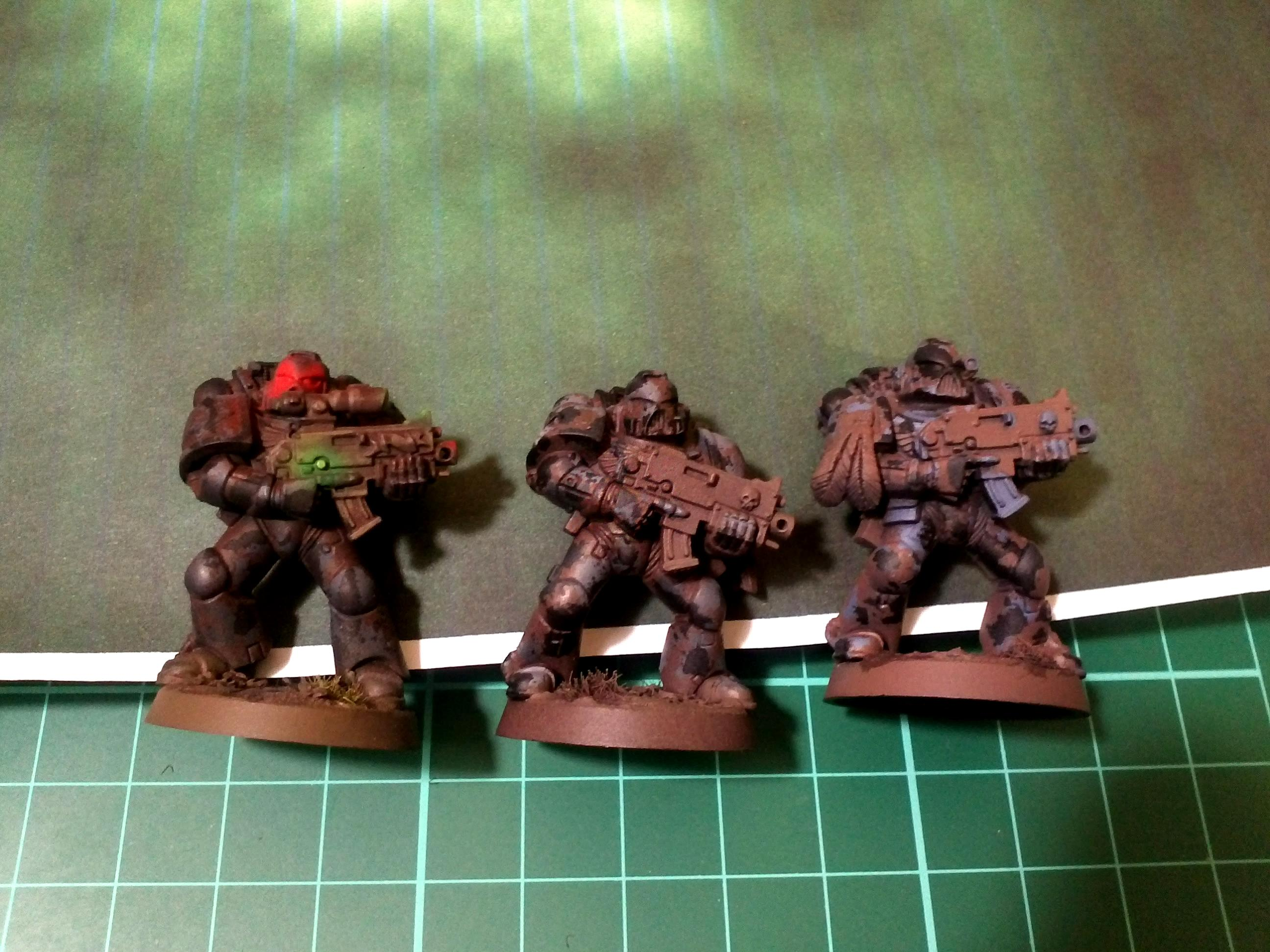 Dark Vengeance, Object Source Lighting, Space Marines, Warhammer 40,000