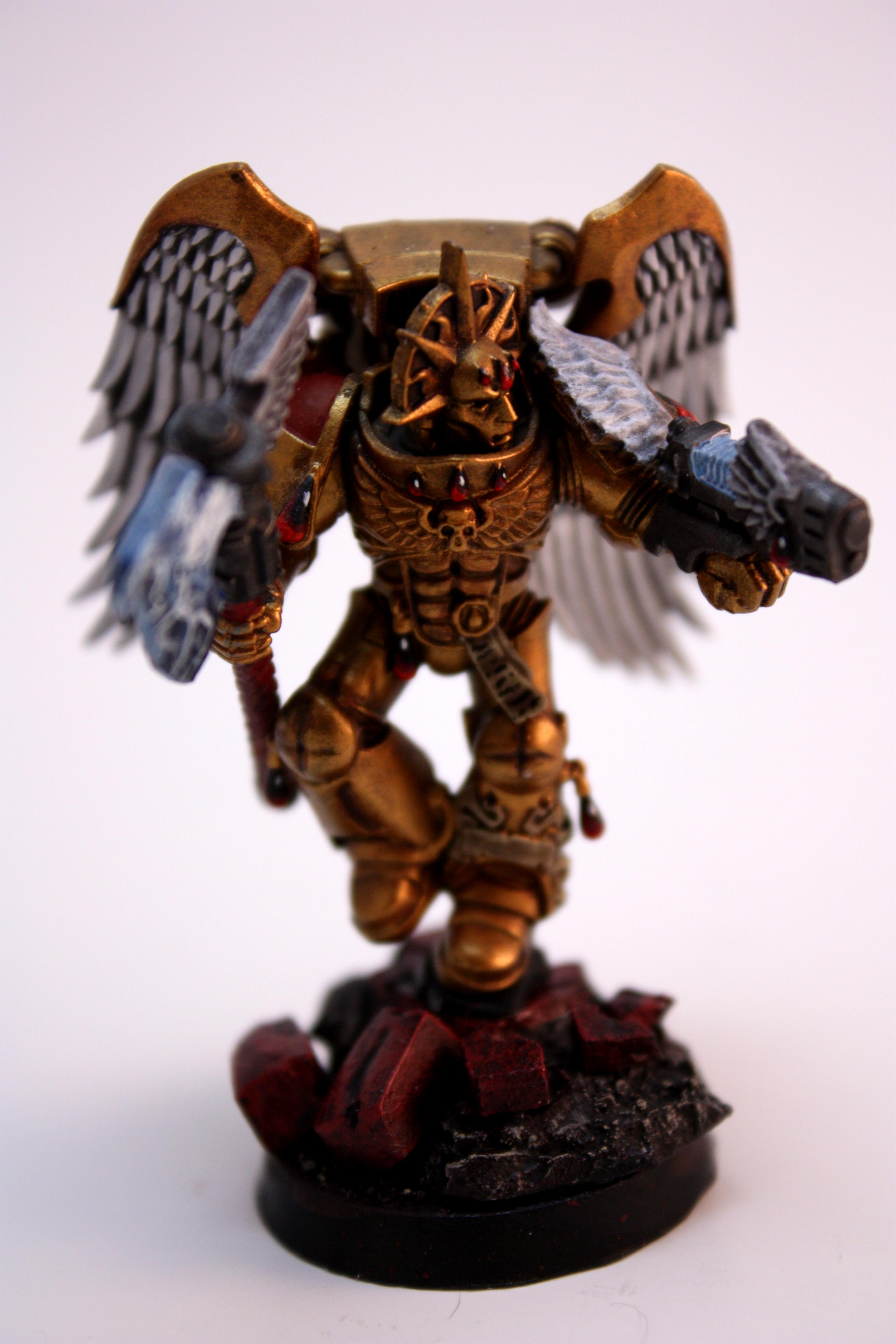 Blood Angels, Gold Armour, Sanguinary Guard