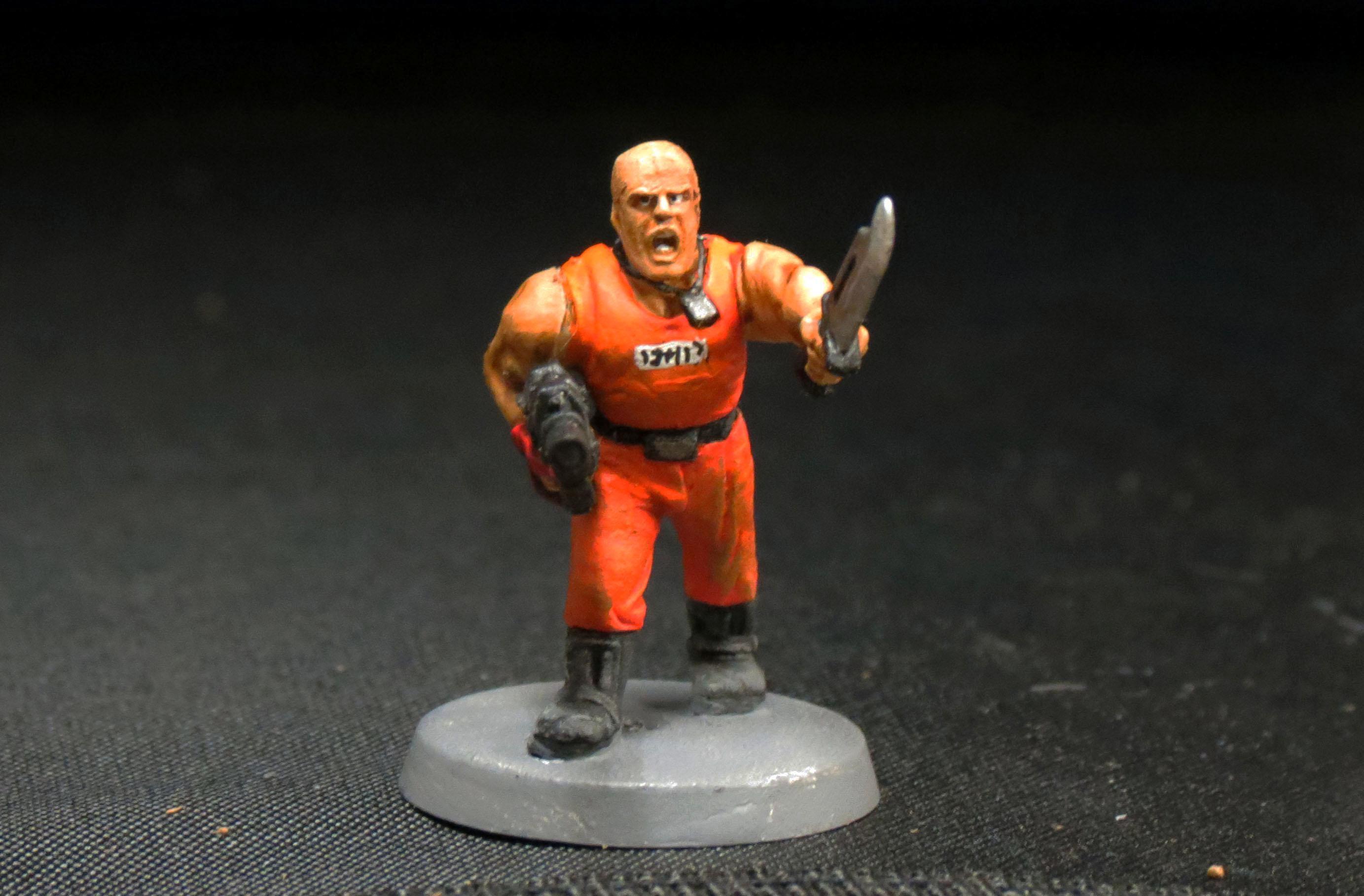 Catachan, Imperial Guard, Penal Legion, Prisoner