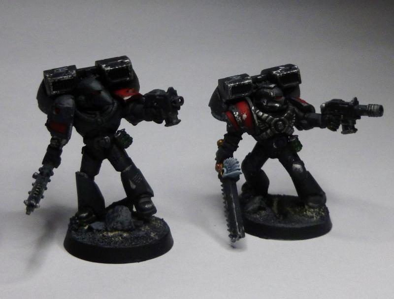 Angels Amaranthine.  First Assault Squad