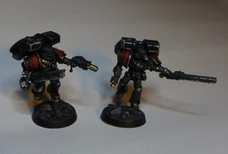 Angels Amaranthine.  First Assault Squad