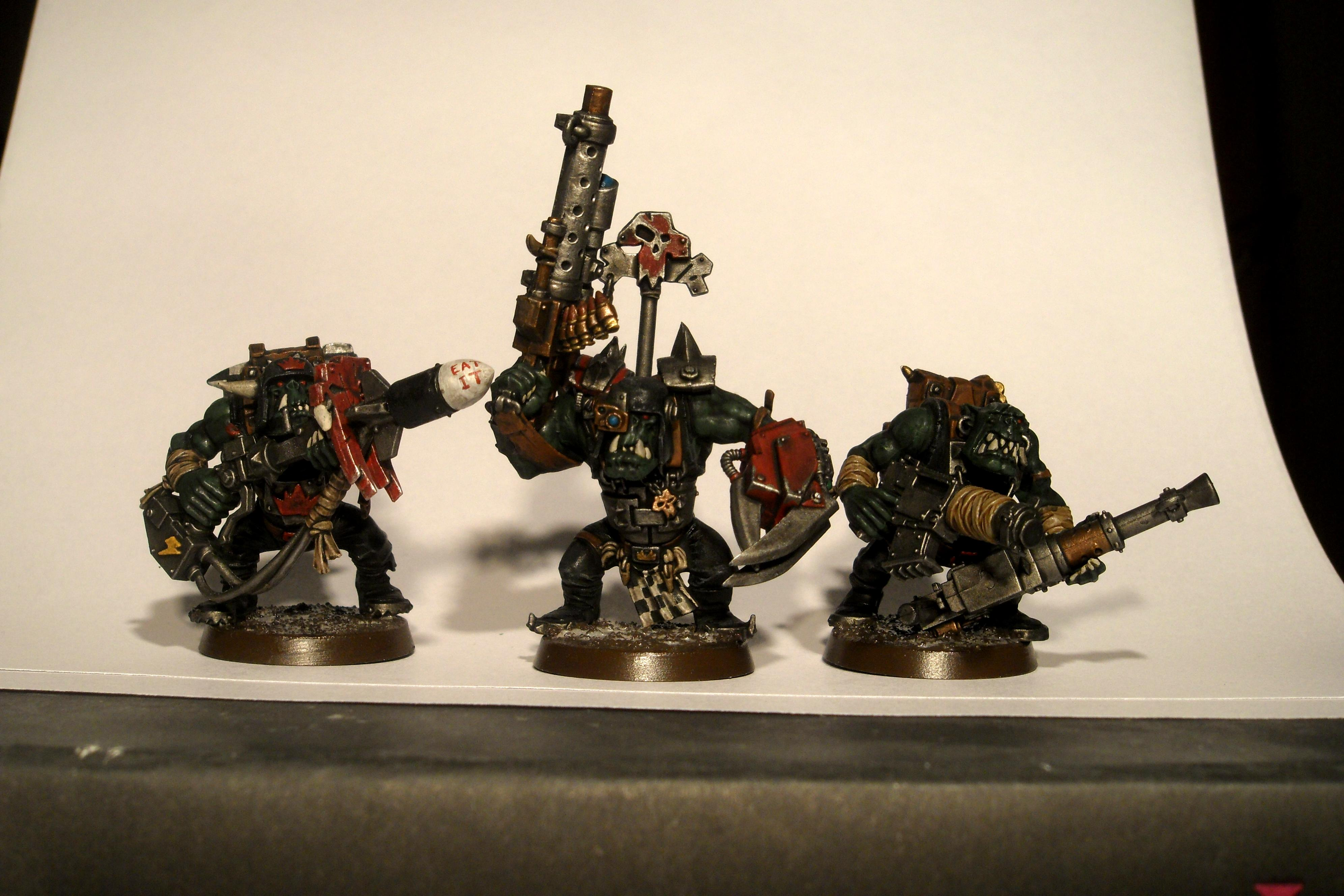 Battlewagon, Mega Nobz, Orks, Shoota Boyz, Warhammer 40,000, Weirdboy
