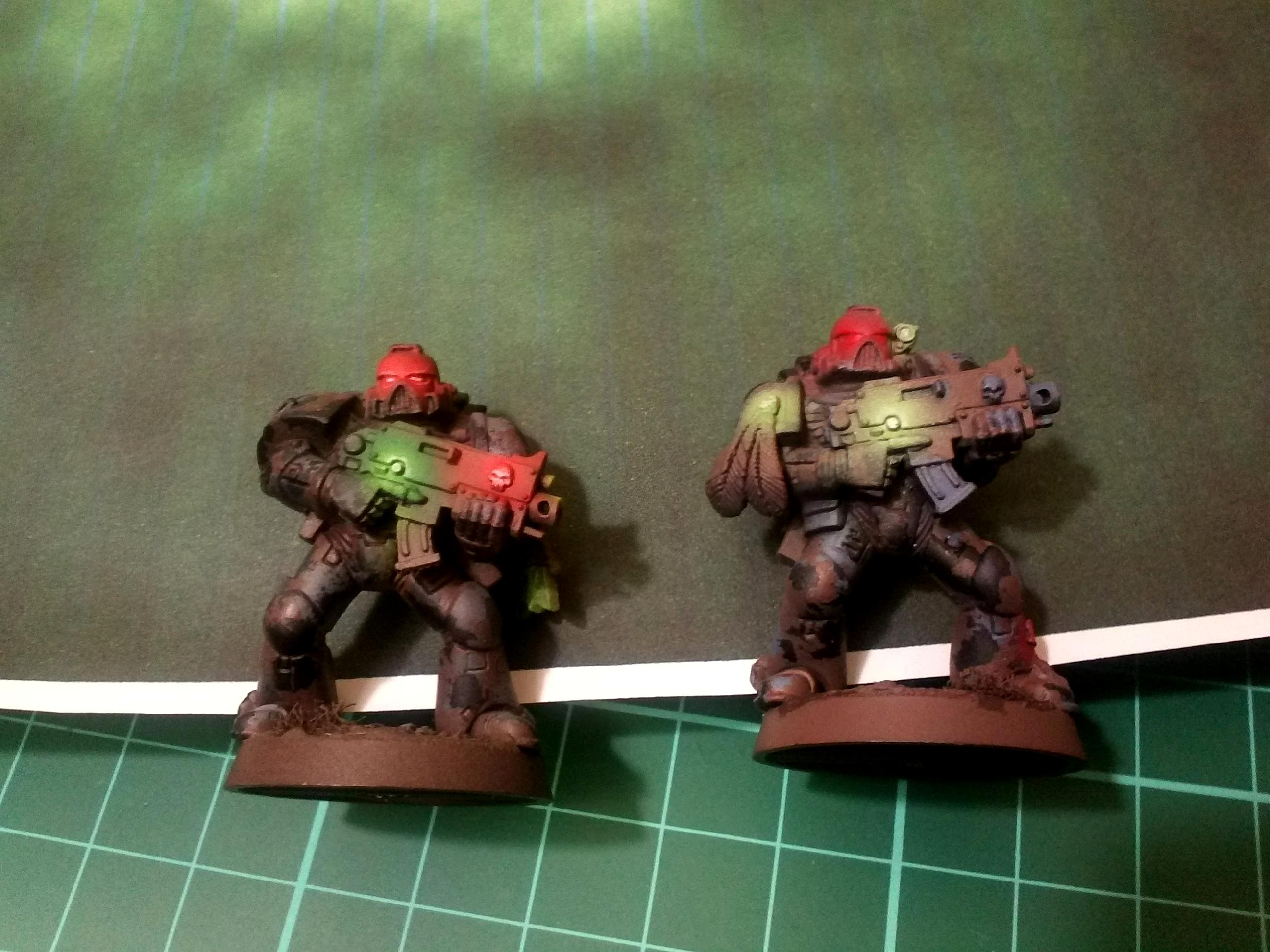 Object Source Lighting, Space Marines, Warhammer 40,000