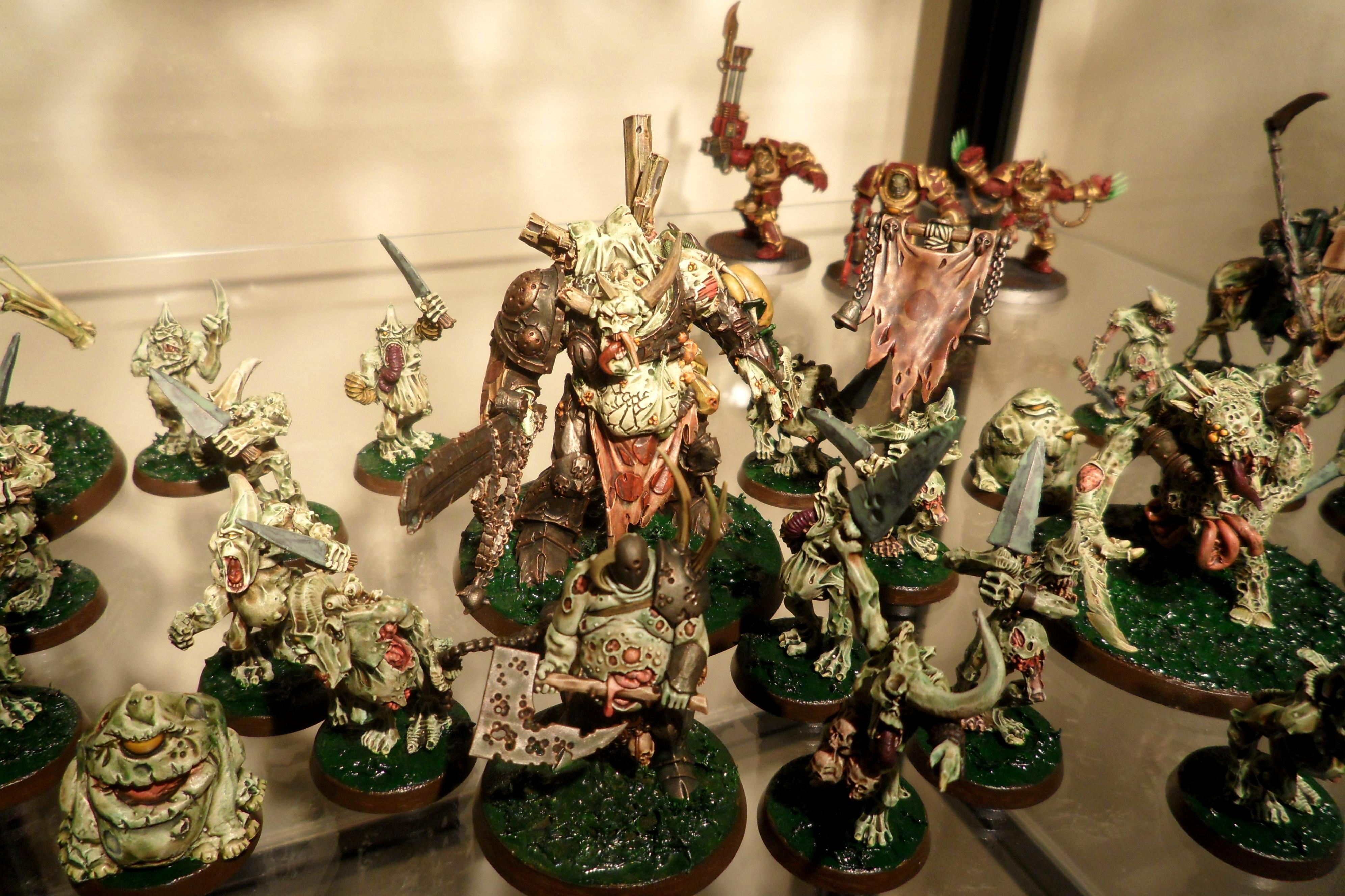 Chaos, Chaos Daemons, Conversion, Daemons, Nurgle, Warhammer 40,000