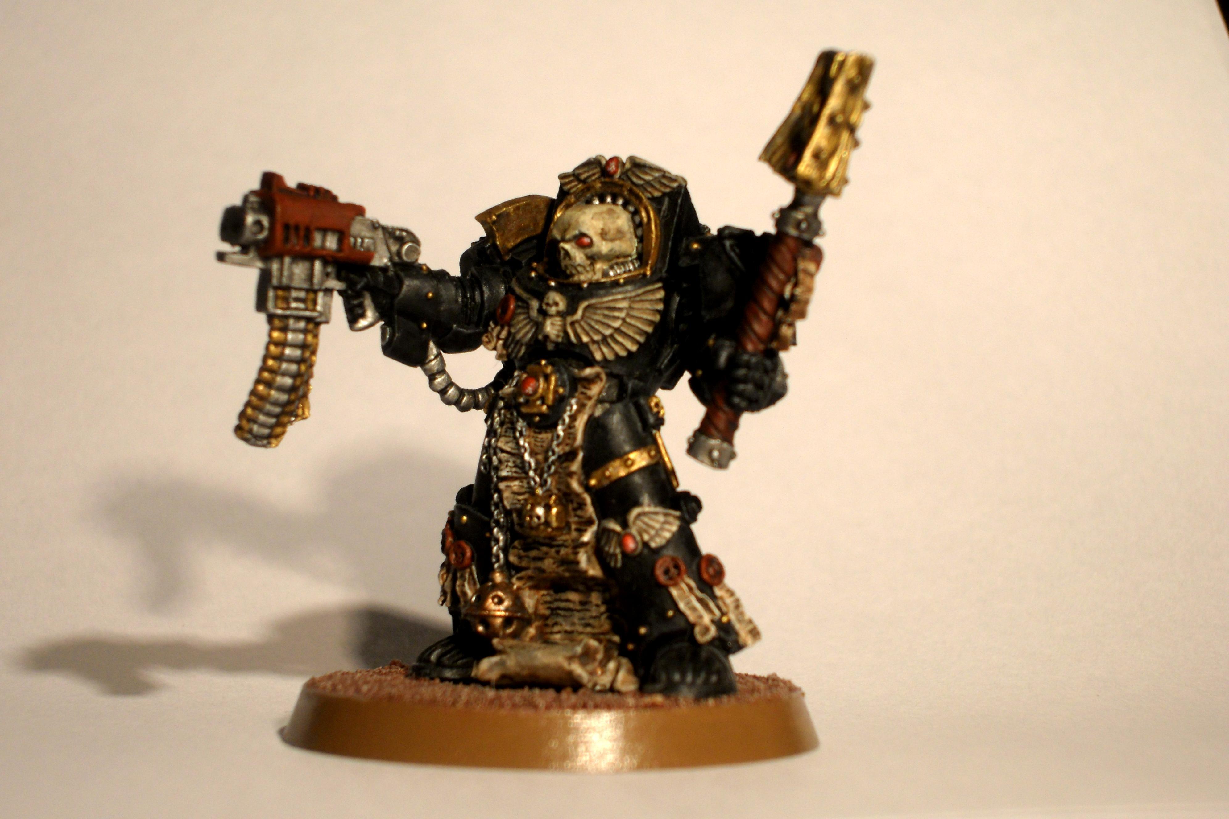 Conversion, Space Marines, Terminator Chaplain, Warhammer 40,000