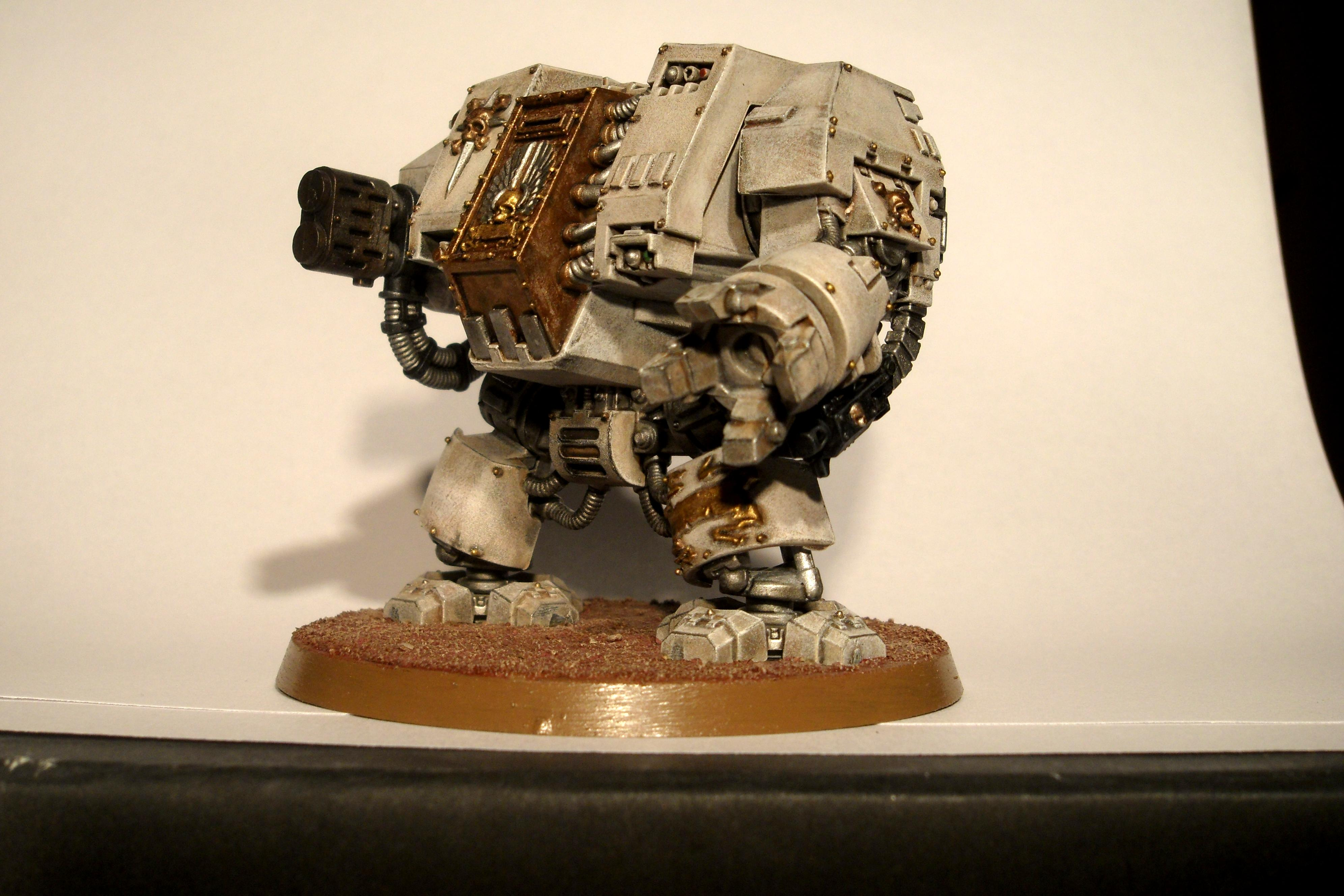 Conversion, Dreadnought, Space Marines, Warhammer 40,000
