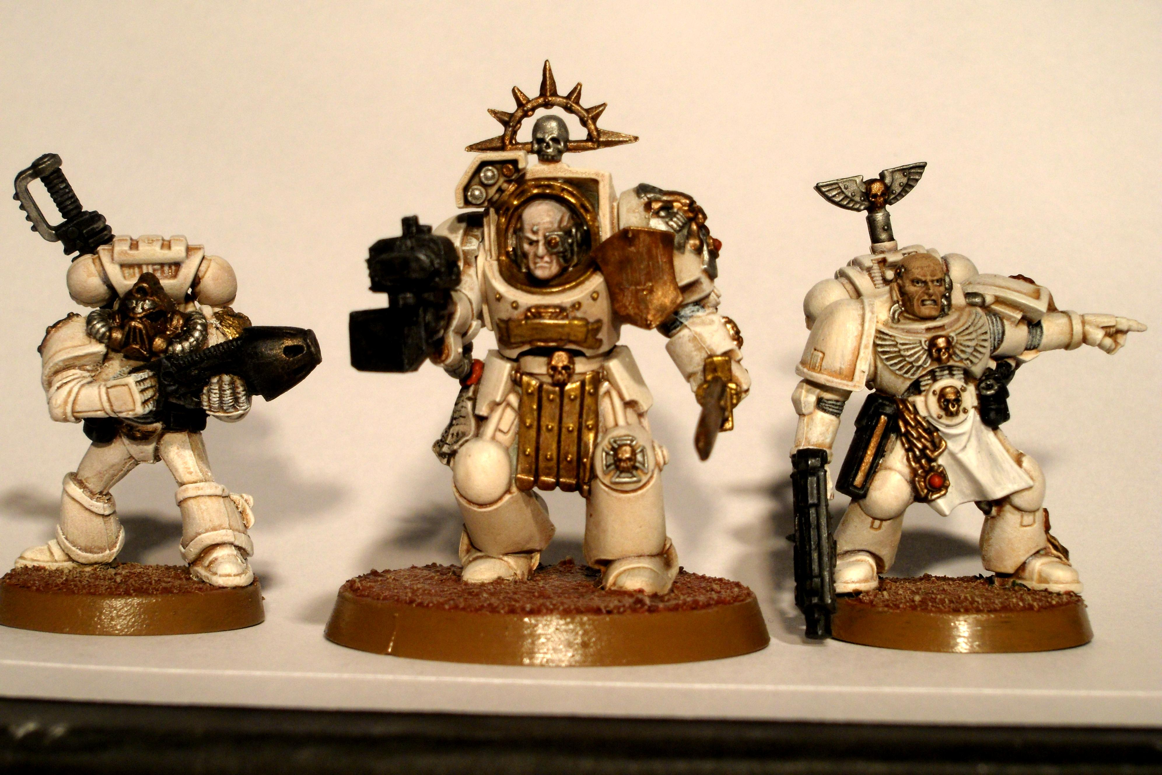 Conversion, Sergeants, Space Marines, Warhammer 40,000