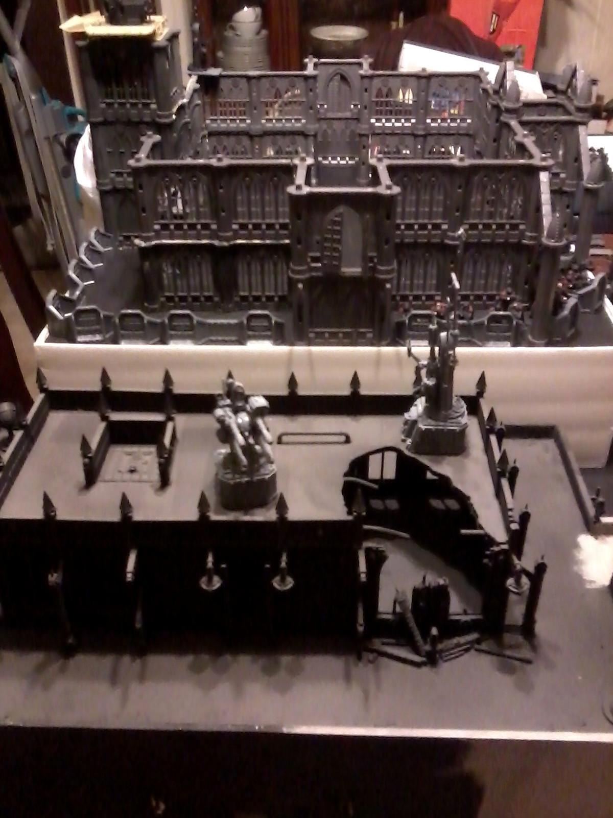 40k Terrain, Cities Of Death, Monastary Fortress, Red Hunters, Space Marines, Terrain
