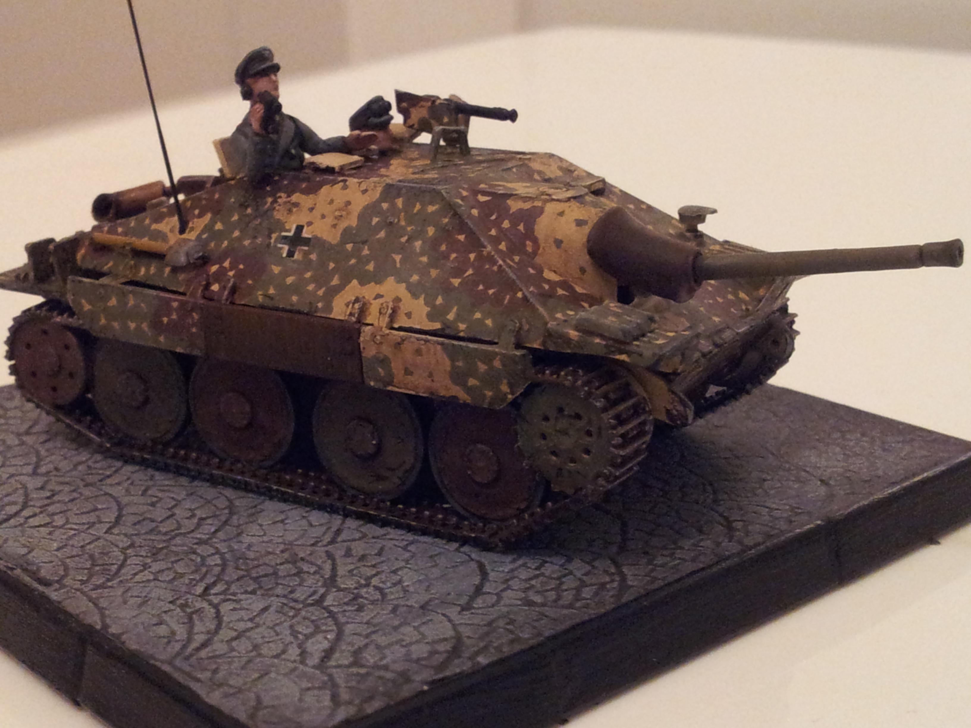 1/72, Camouflage, Germans, Hetzer, Panzer, World War 2