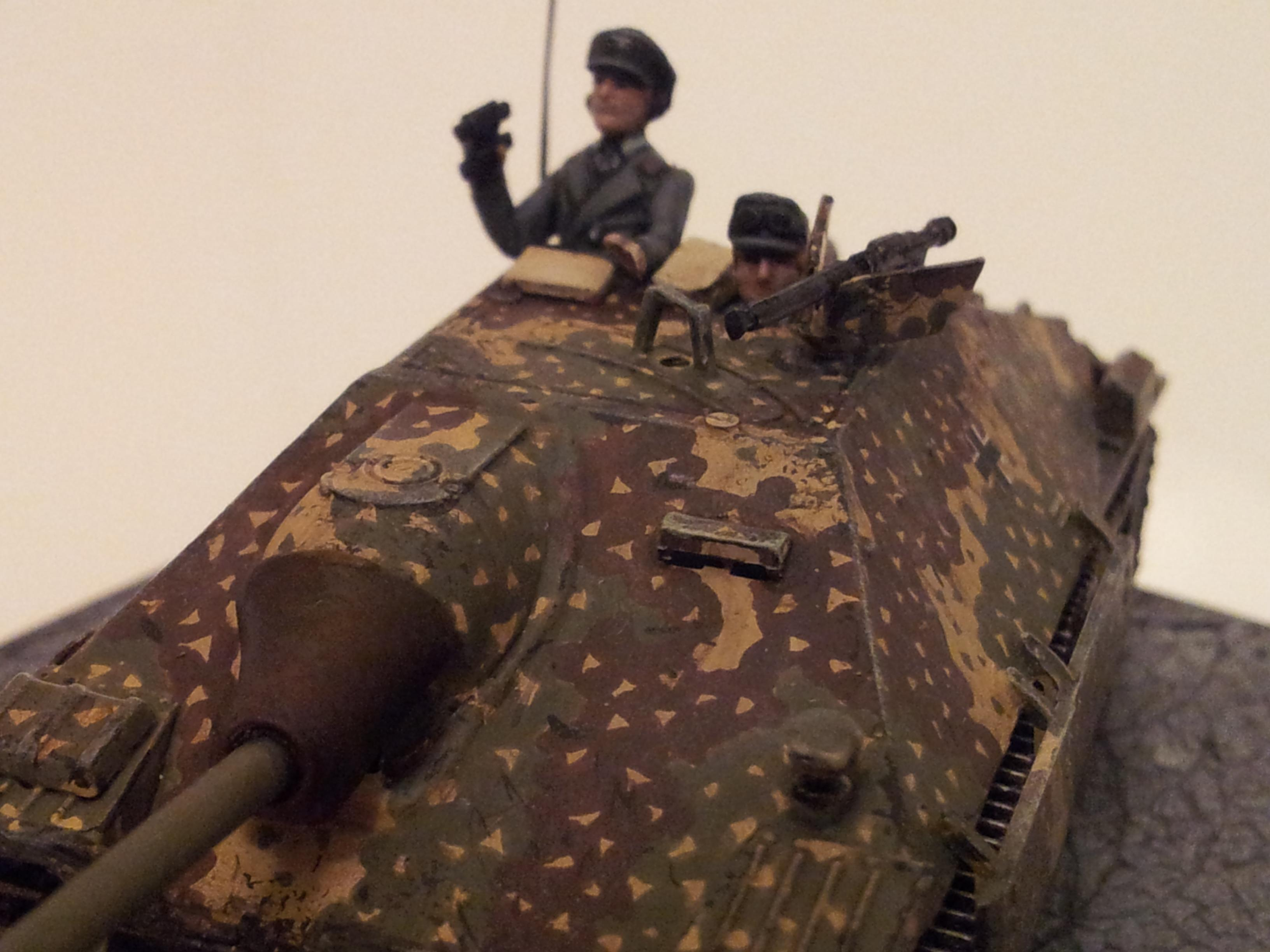 1/72, Camouflage, Germans, Hetzer, Panzer, World War 2