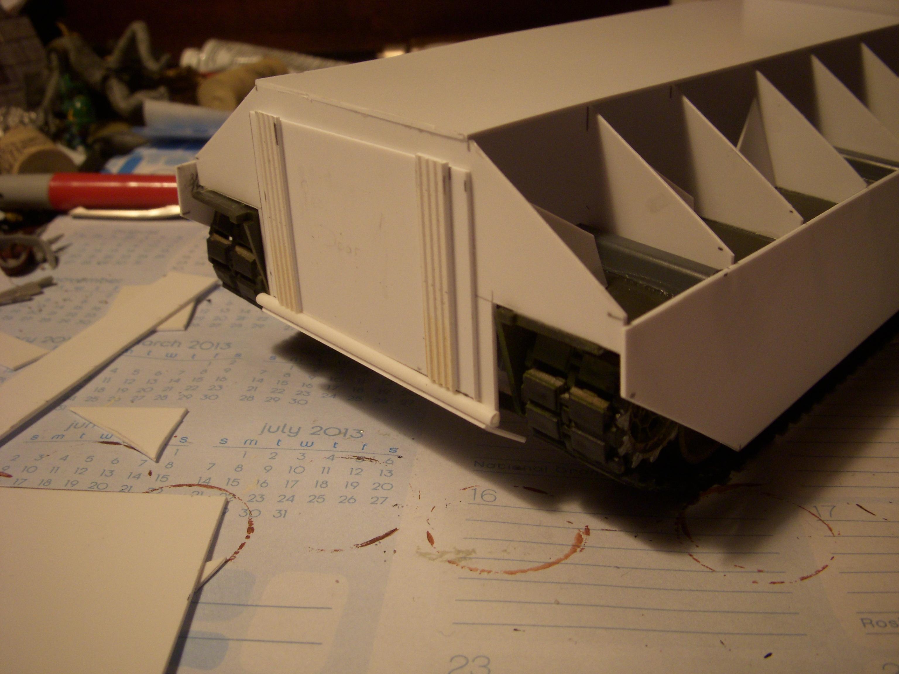 Crassus, Scratch Build, Work In Progress