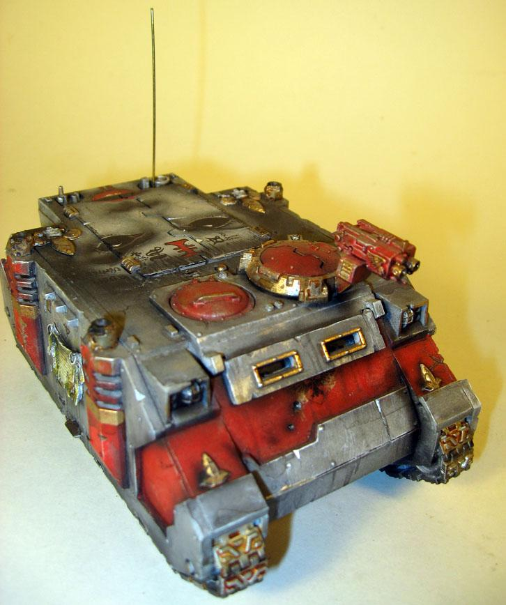 Airbrushed, Mural, Sisters Of Battle, Warhammer 40,000, Weathering. Icons