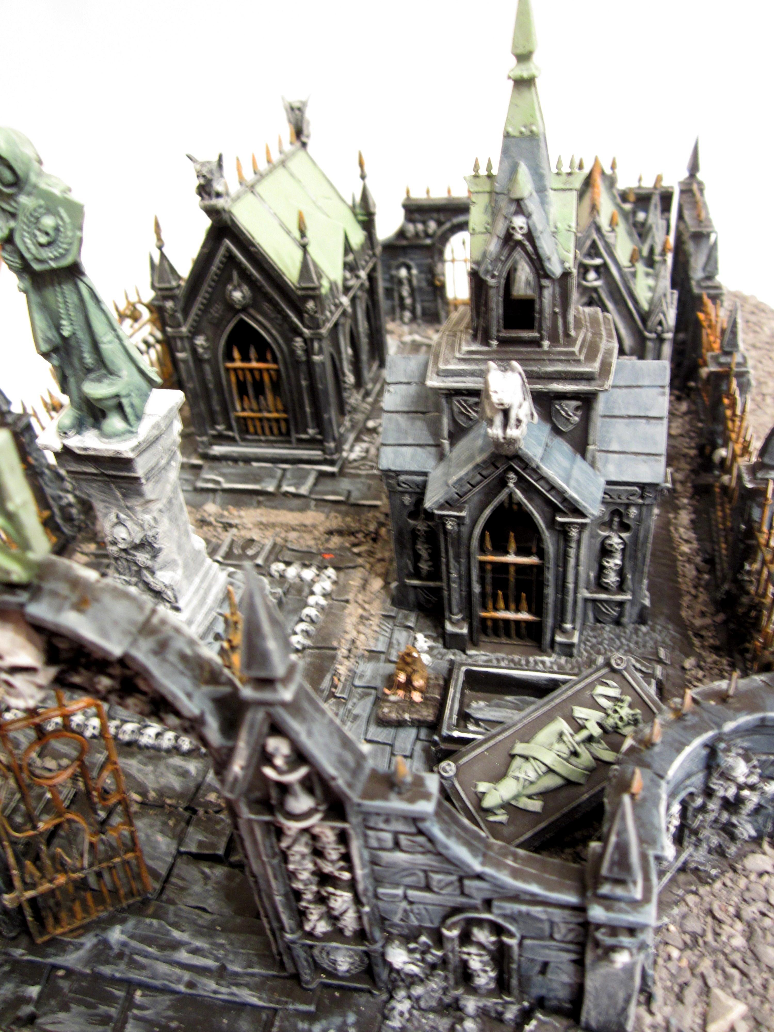 Chaos, Garden Of Morr, Graveyard, Tomb, Warhammer Fantasy