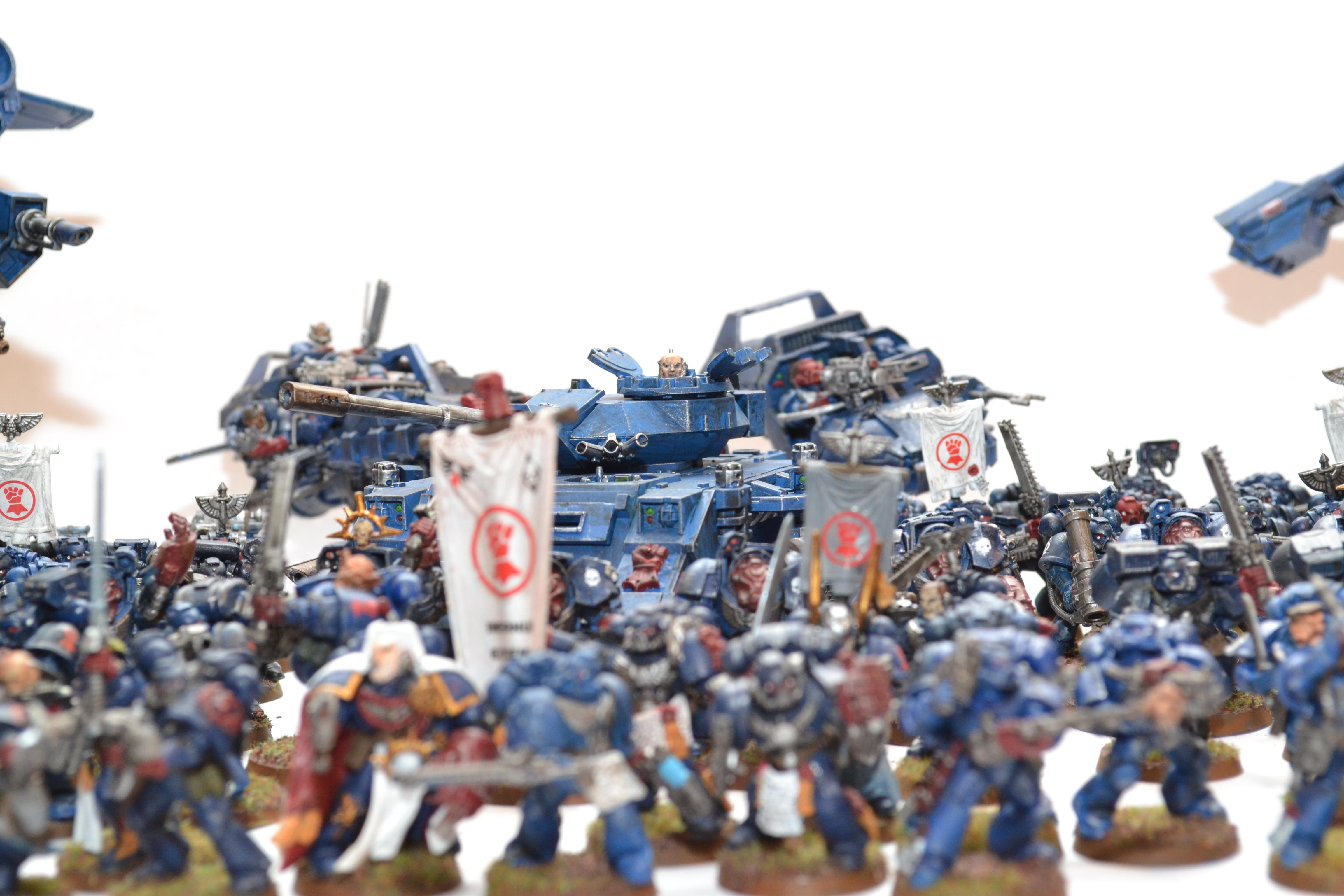 Army, Crimson Fists, Space Marines
