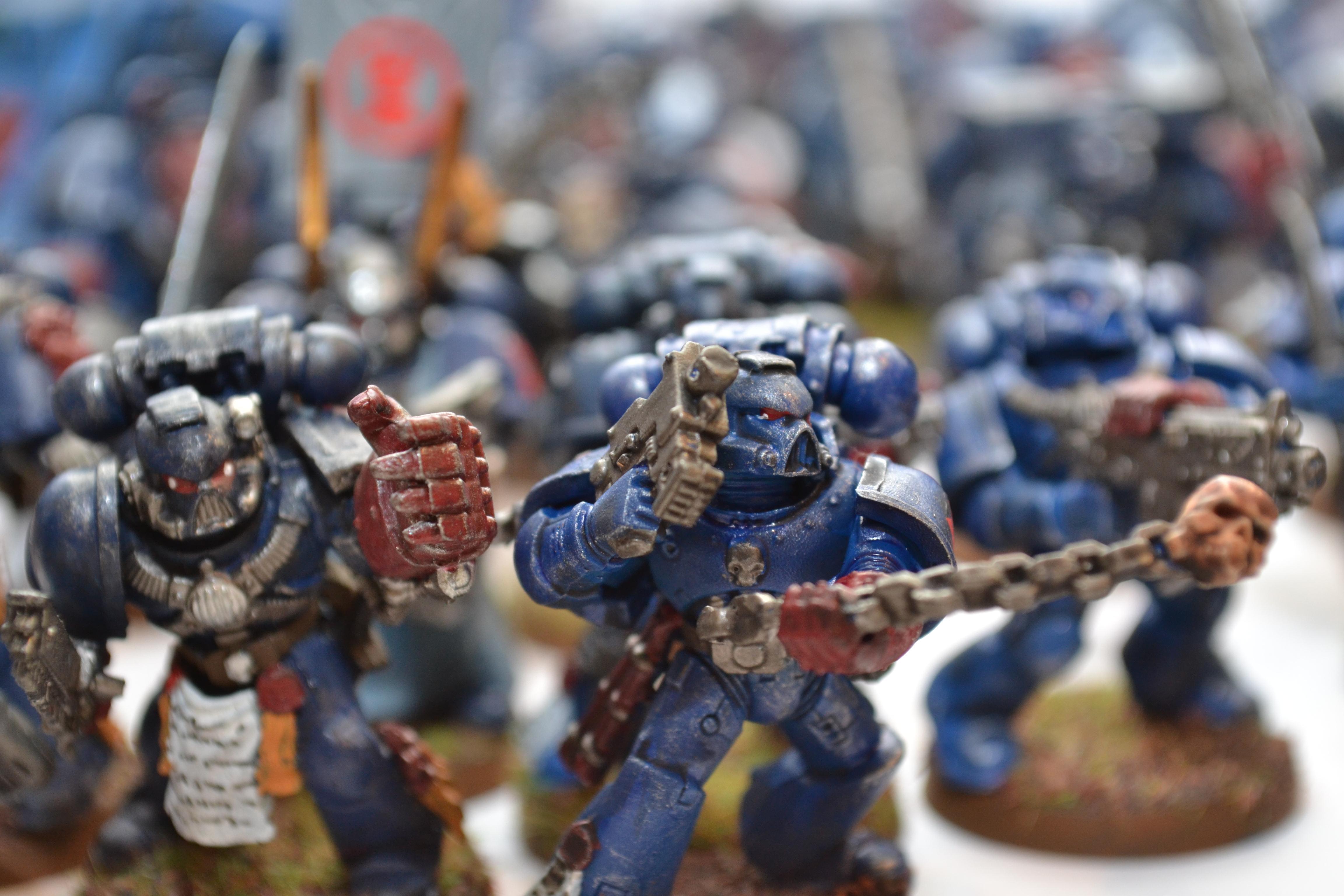 Crimson Fists, Power Armor, Space Marines