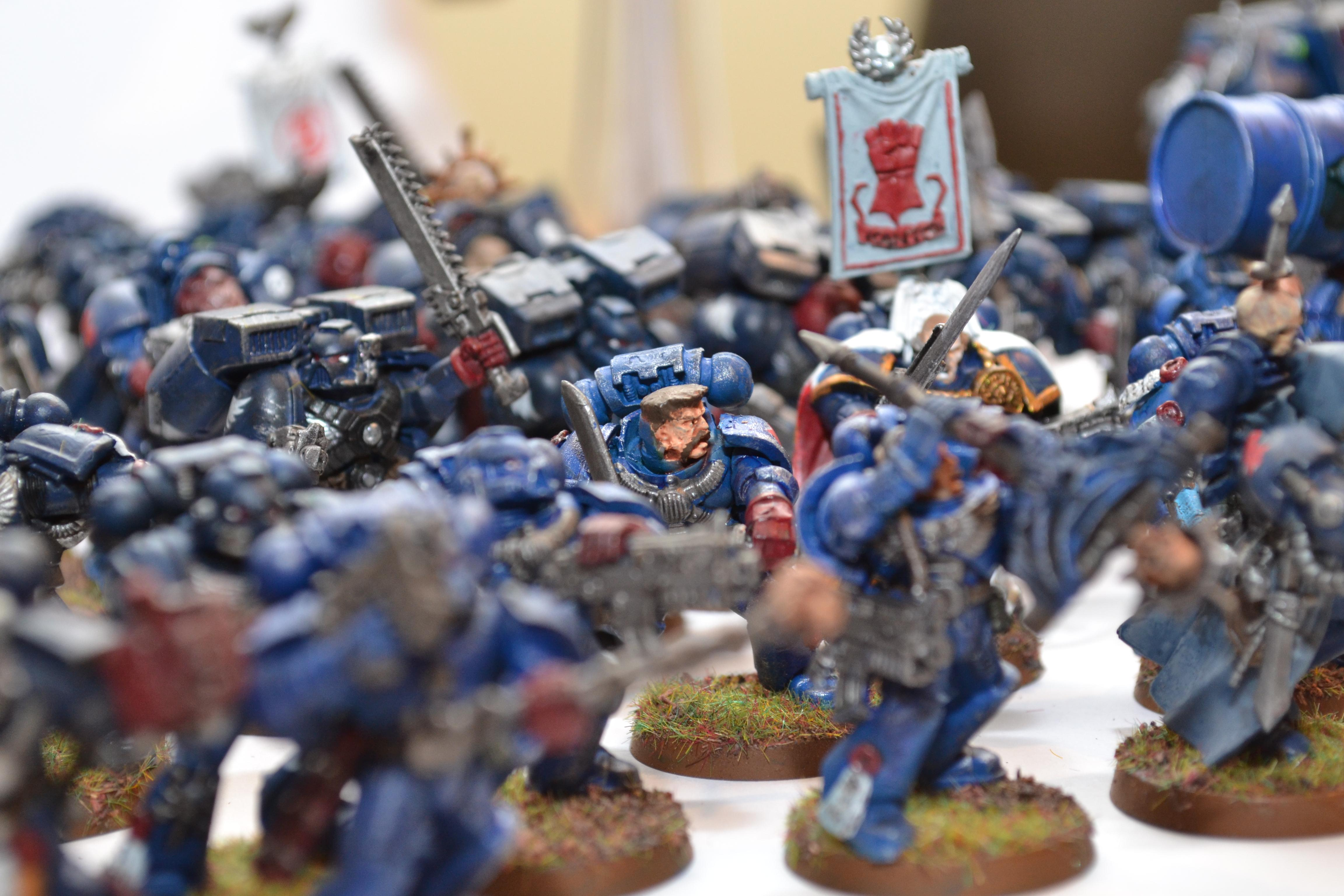 Crimson Fists, For the Chapter