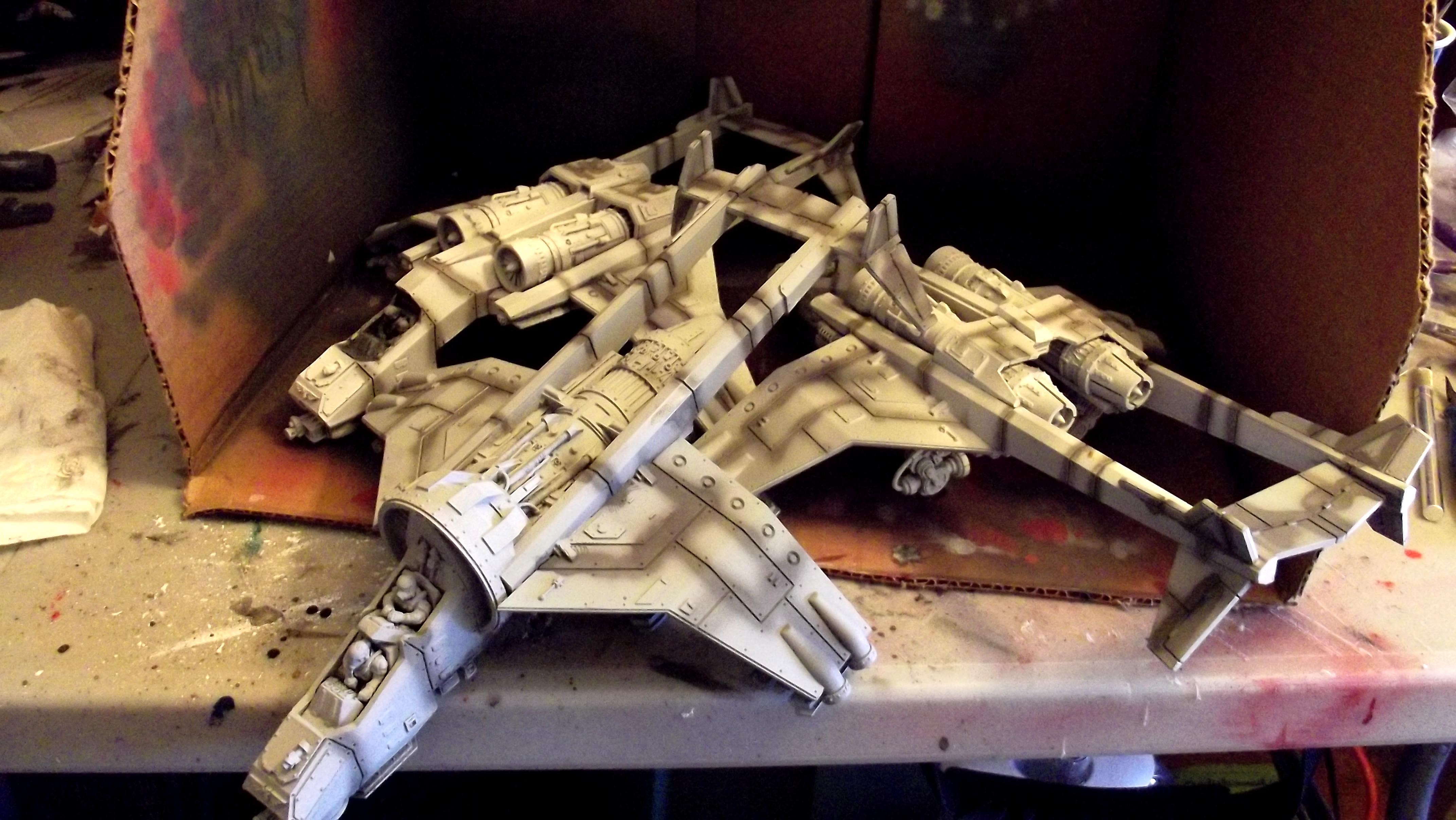 Imperial, Navy, Sky Talon, Vulture, Work In Progress