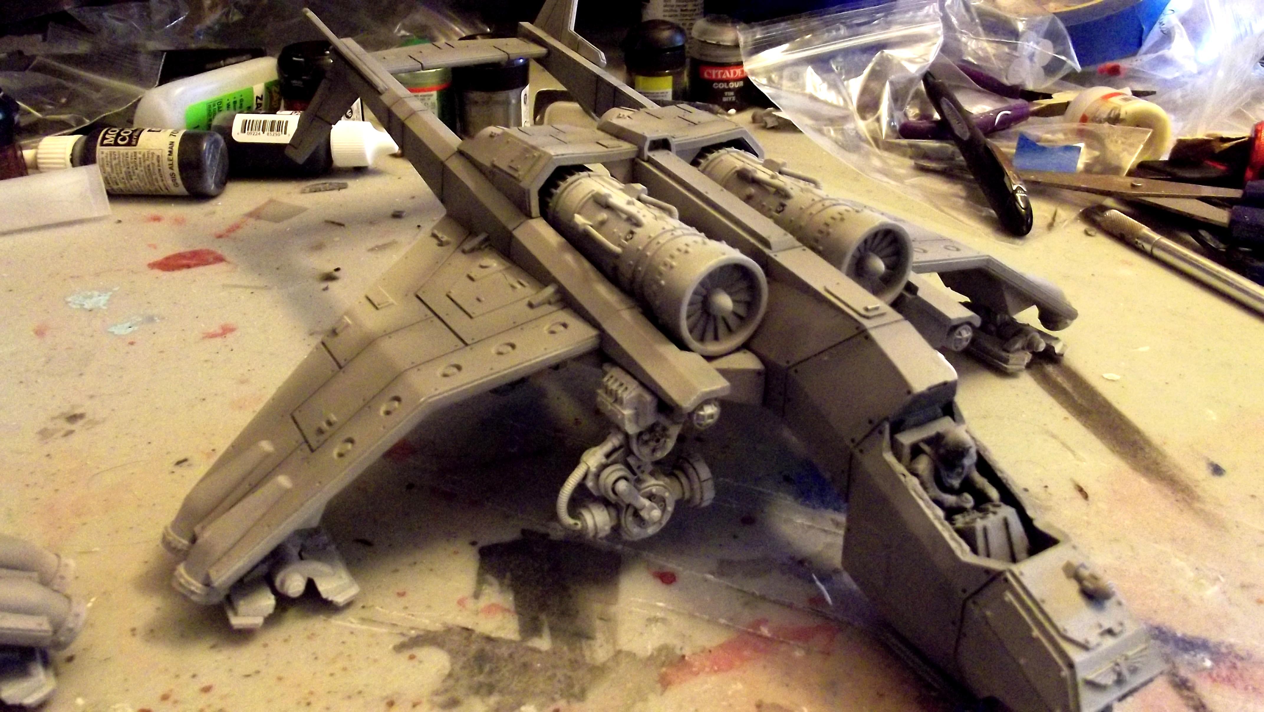 Imperial, Navy, Sky Talon, Work In Progress