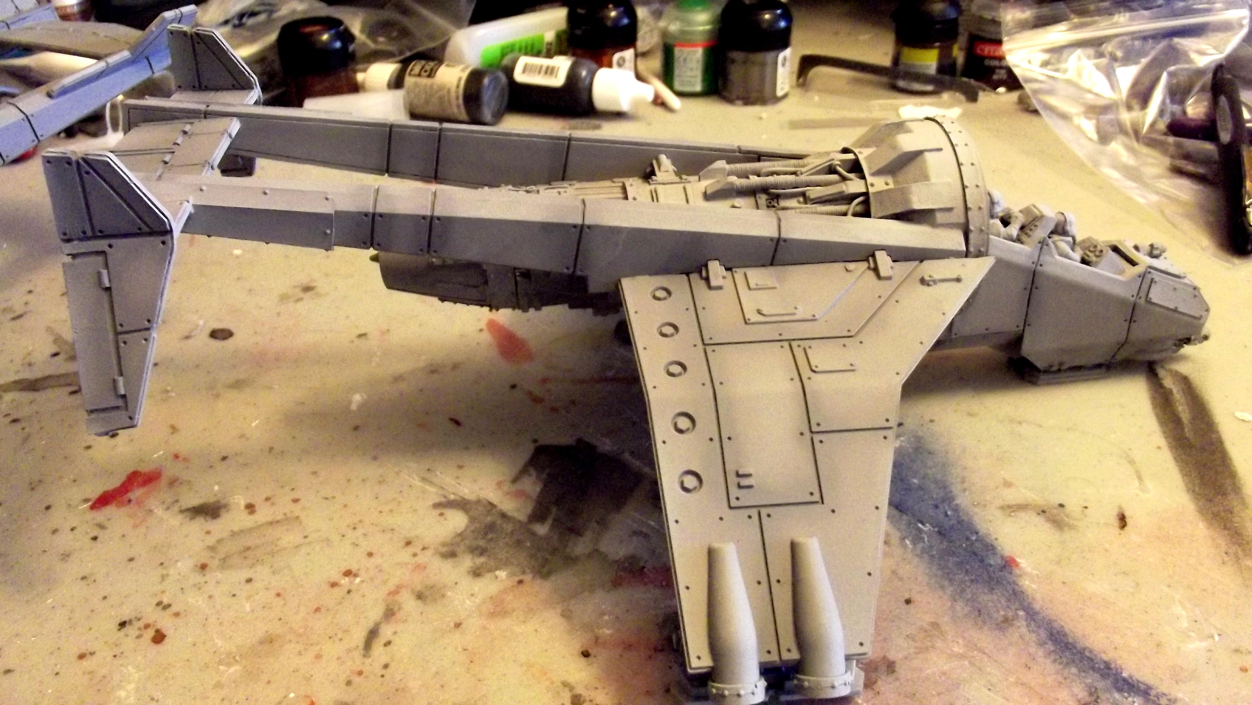 Imperial, Navy, Vulture, Work In Progress